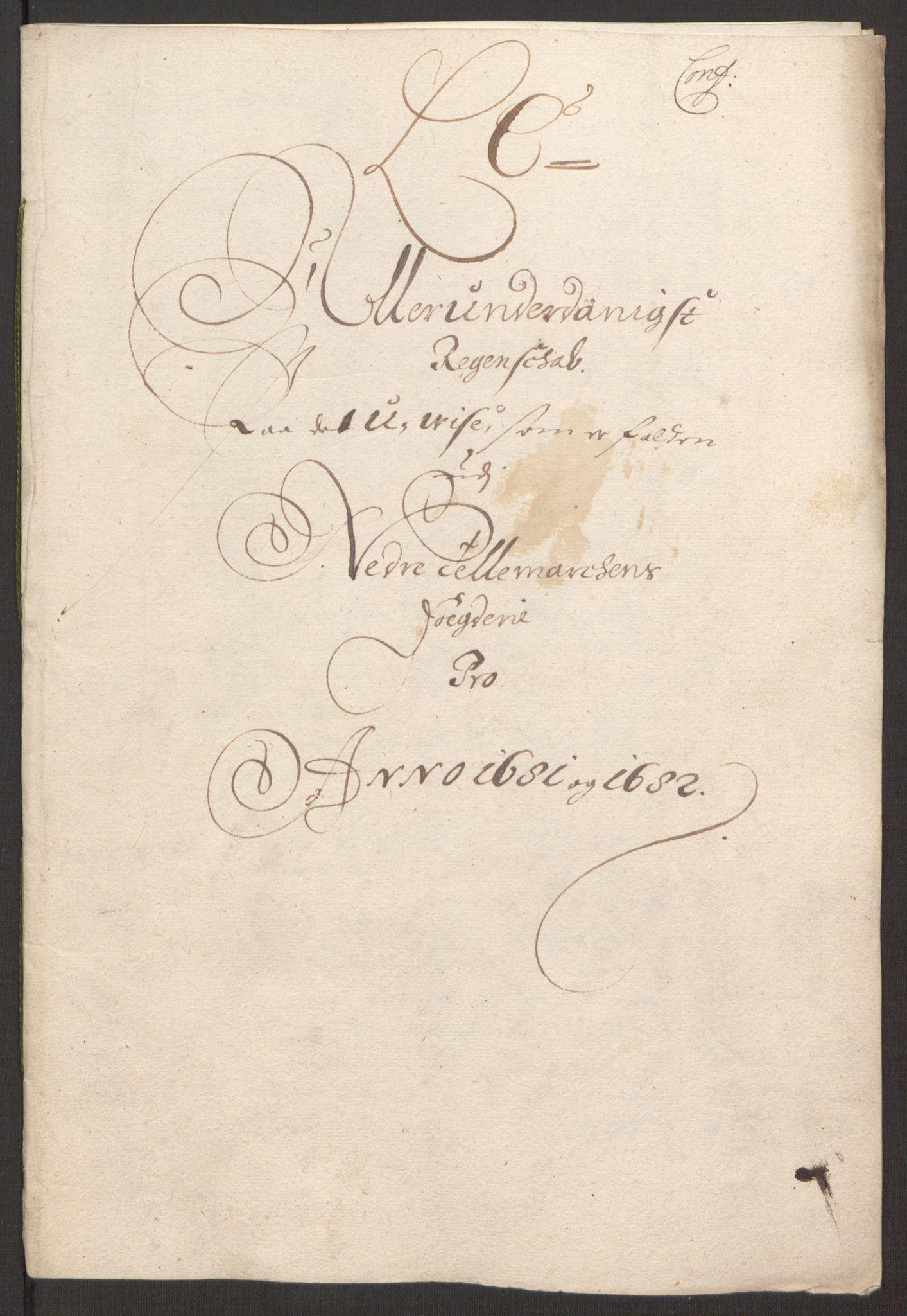 RA, Rentekammeret inntil 1814, Reviderte regnskaper, Fogderegnskap, R35/L2078: Fogderegnskap Øvre og Nedre Telemark, 1680-1684, s. 48