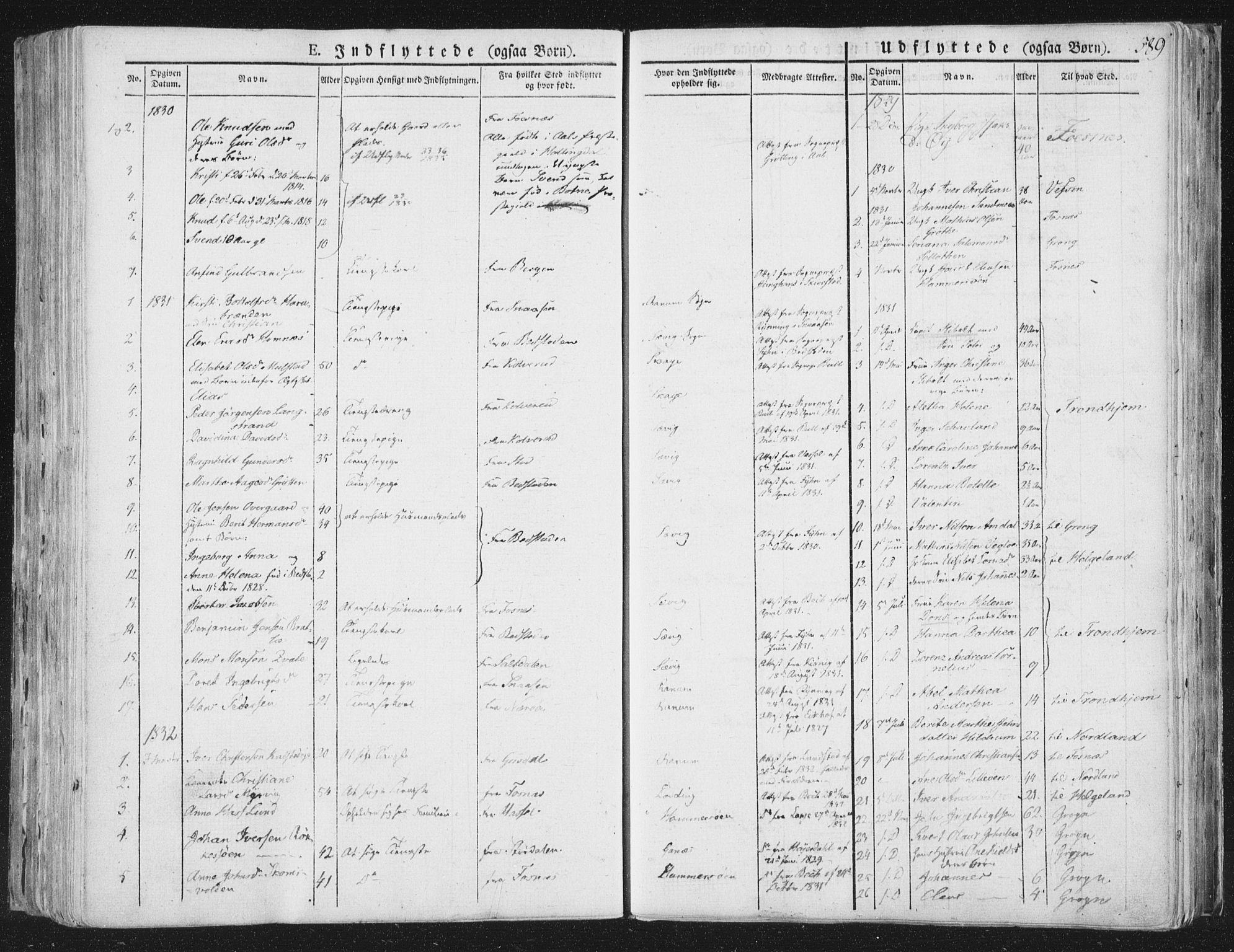 SAT, Ministerialprotokoller, klokkerbøker og fødselsregistre - Nord-Trøndelag, 764/L0552: Ministerialbok nr. 764A07b, 1824-1865, s. 589