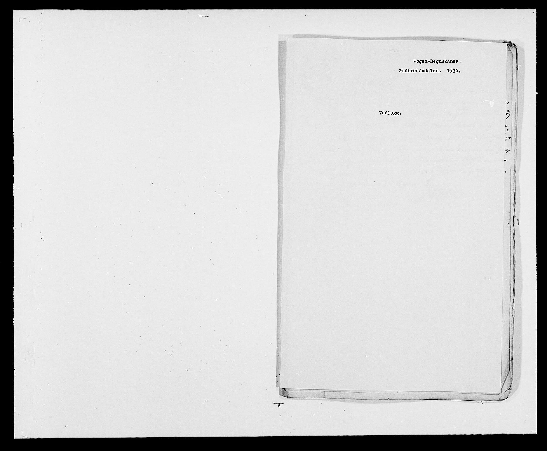 RA, Rentekammeret inntil 1814, Reviderte regnskaper, Fogderegnskap, R17/L1165: Fogderegnskap Gudbrandsdal, 1690-1692, s. 175