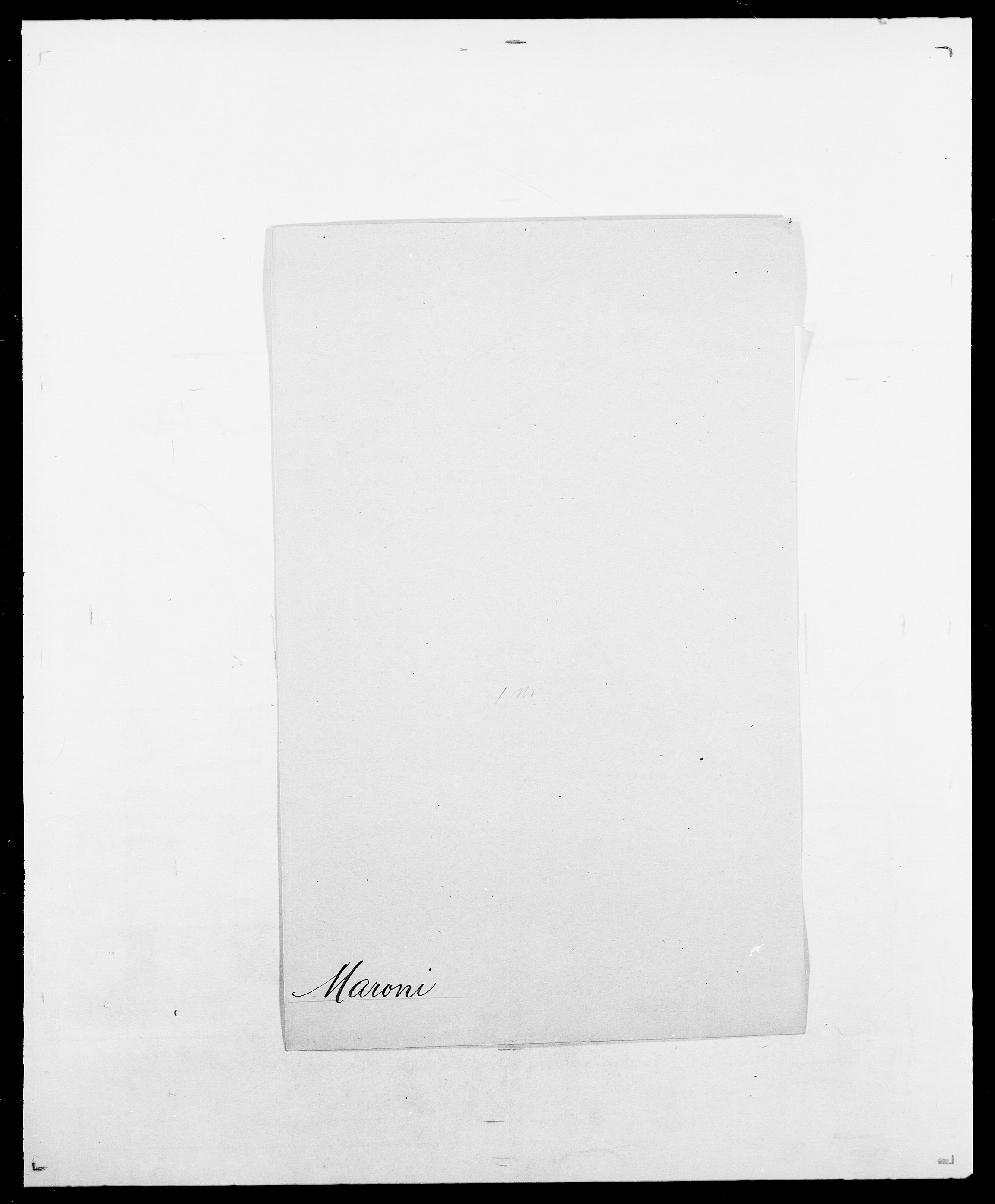 SAO, Delgobe, Charles Antoine - samling, D/Da/L0025: Løberg - Mazar, s. 364