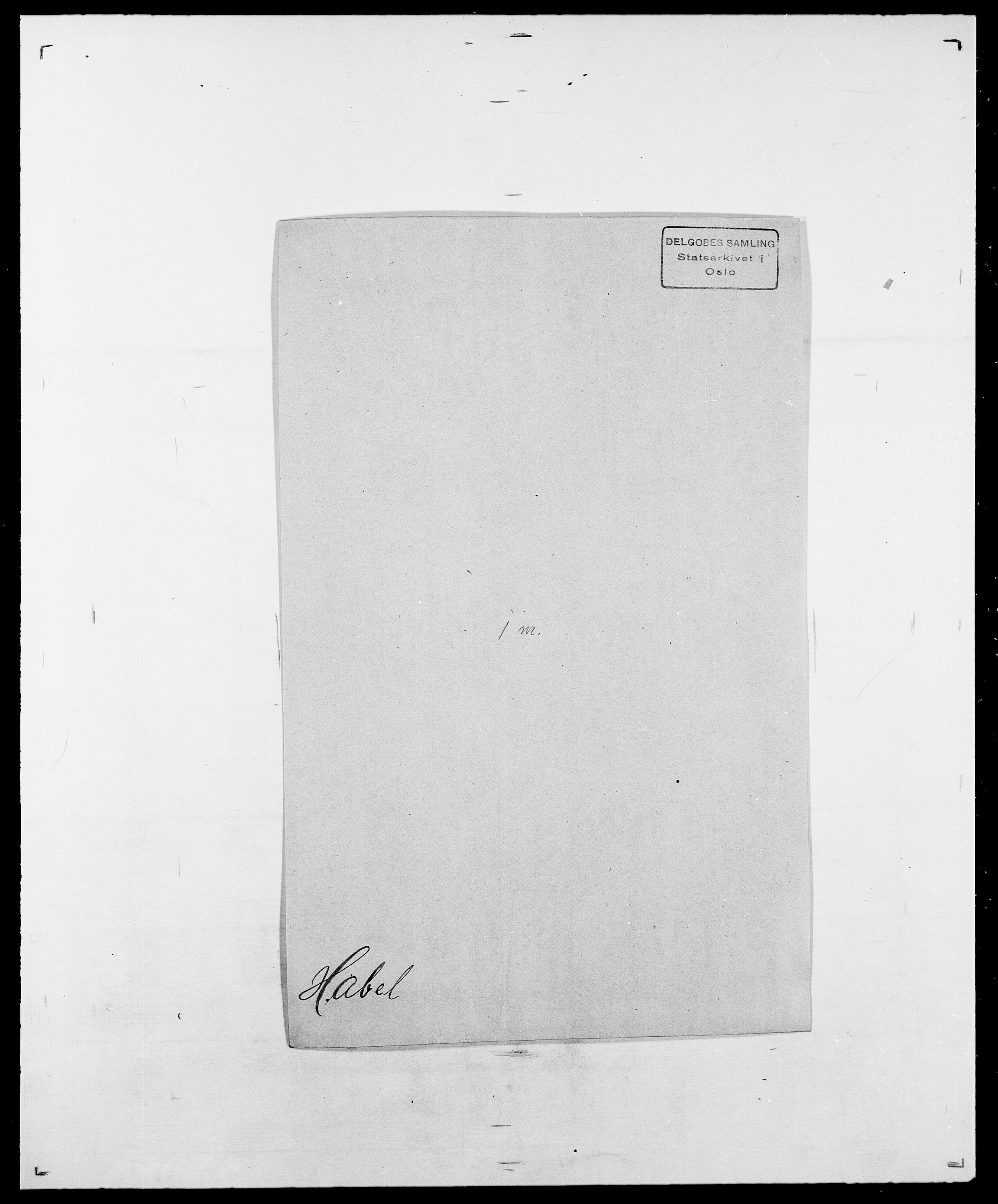 SAO, Delgobe, Charles Antoine - samling, D/Da/L0015: Grodtshilling - Halvorsæth, s. 624