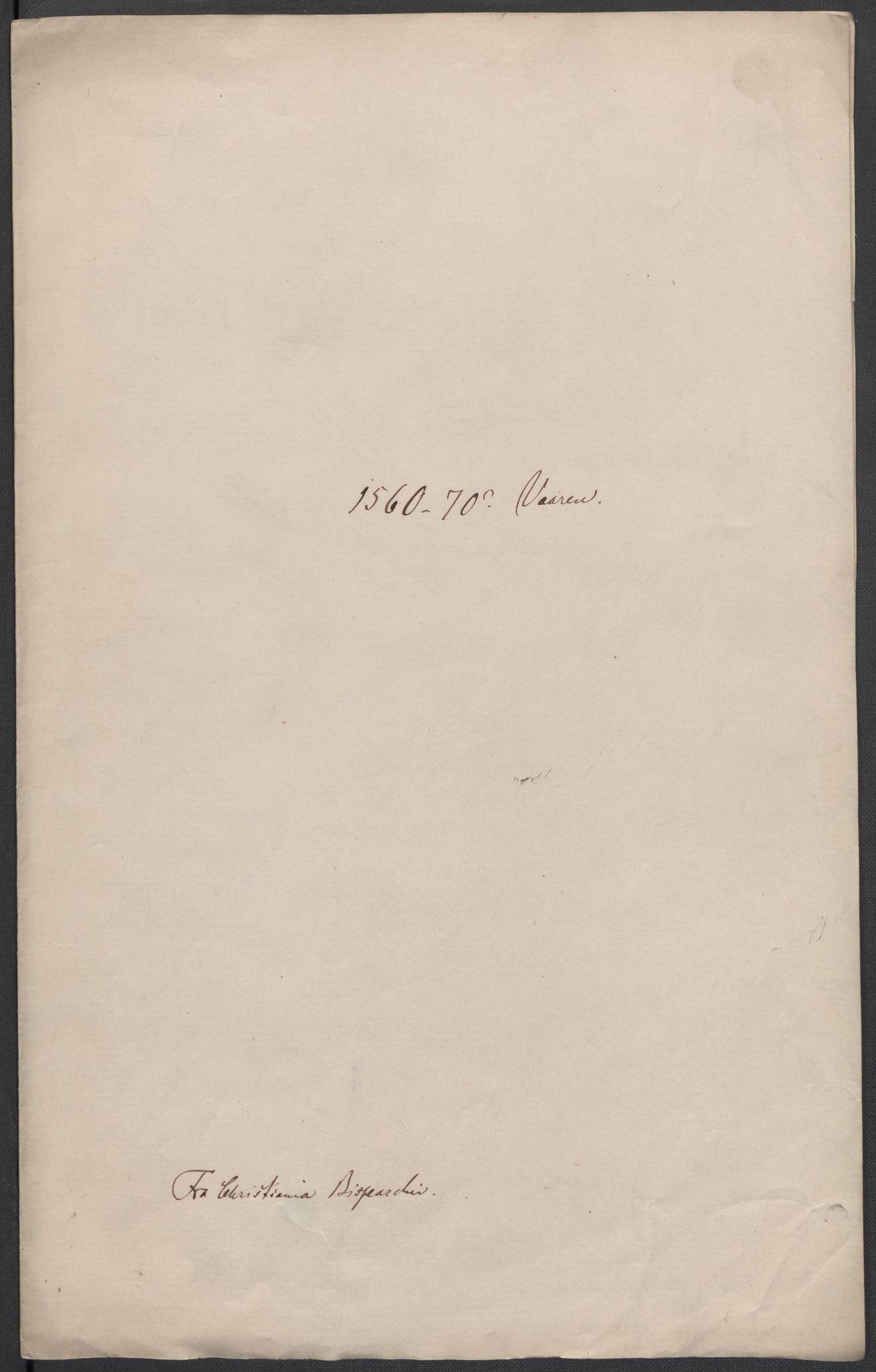 RA, Riksarkivets diplomsamling, F02/L0075: Dokumenter, 1570-1571, s. 20