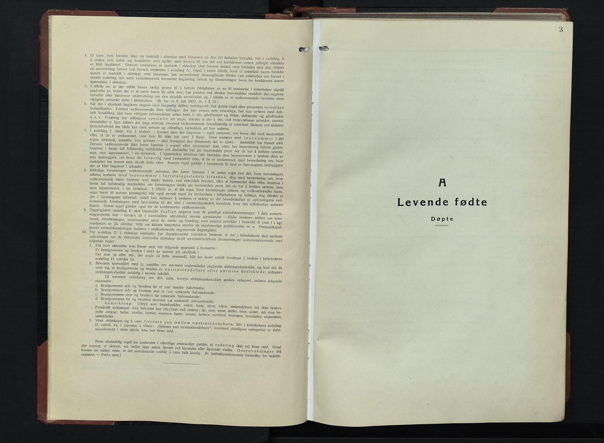 SAH, Vardal prestekontor, H/Ha/Hab/L0019: Klokkerbok nr. 19, 1941-1951, s. 3