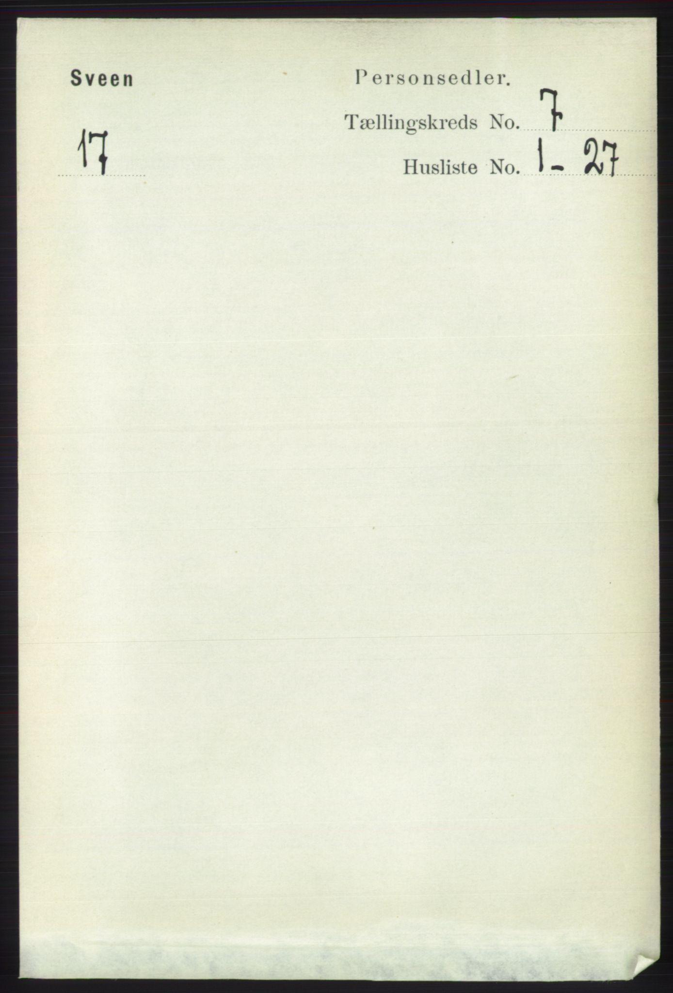 RA, Folketelling 1891 for 1216 Sveio herred, 1891, s. 1973