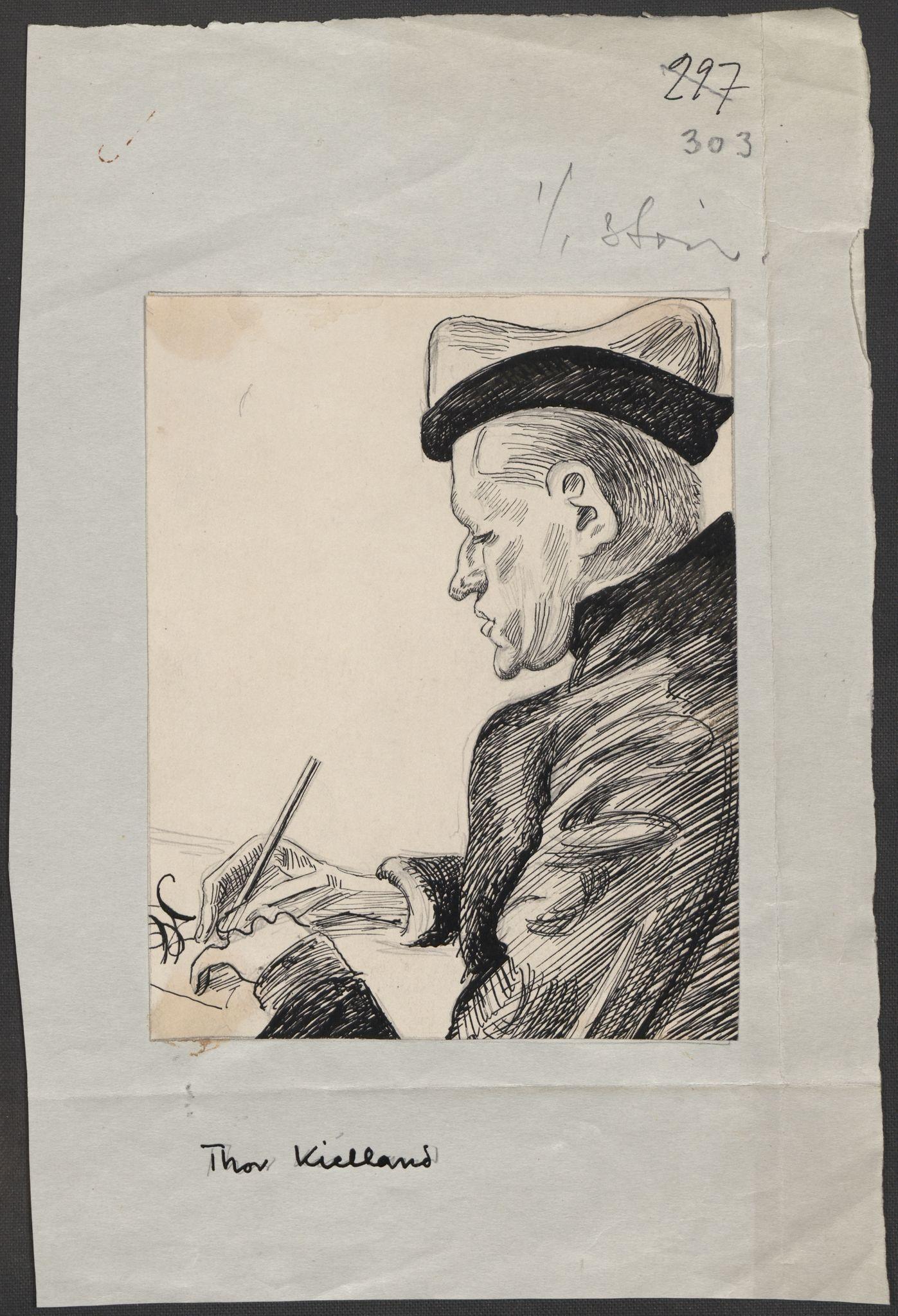 RA, Grøgaard, Joachim, F/L0002: Tegninger og tekster, 1942-1945, s. 79