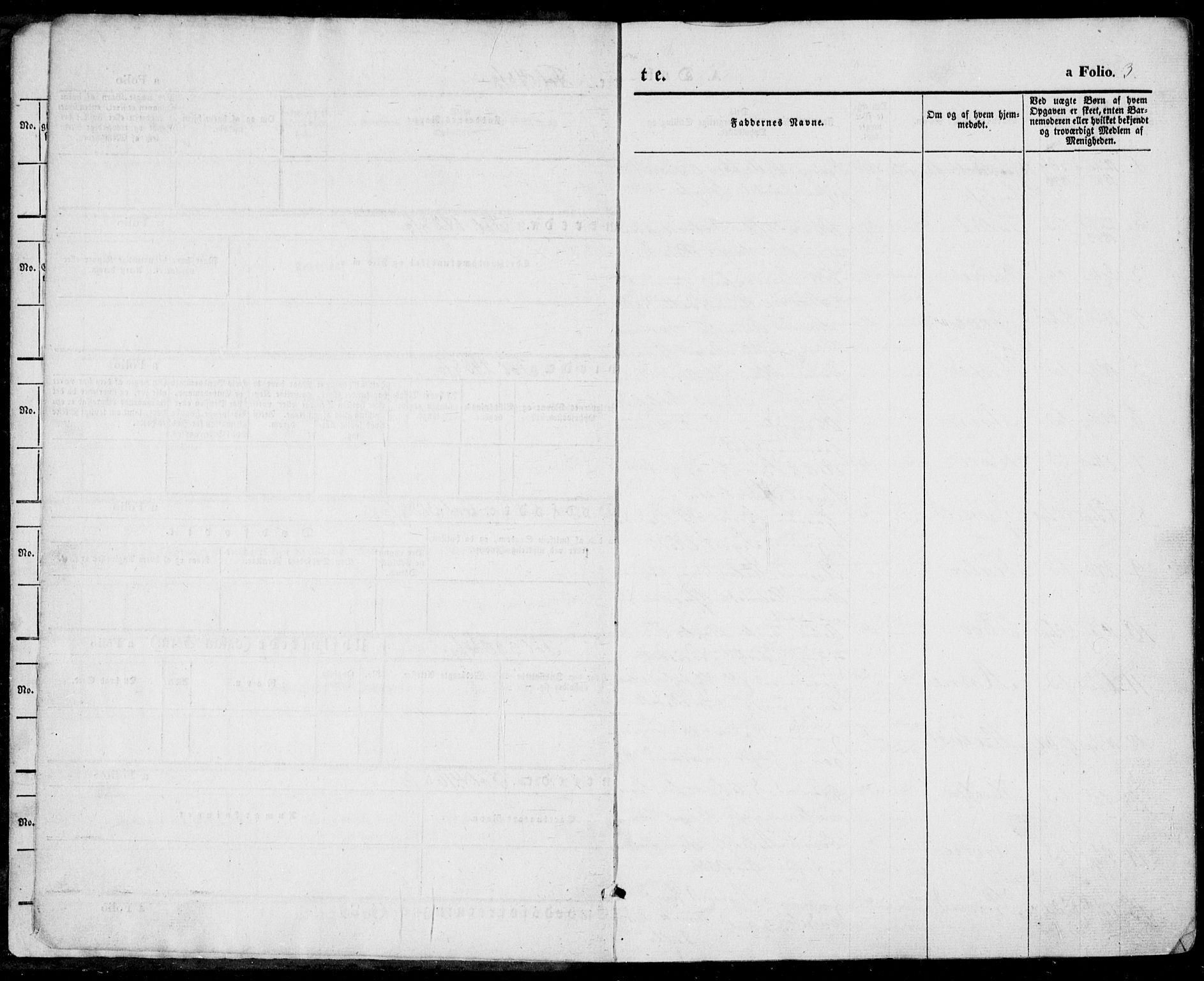 SAKO, Vinje kirkebøker, F/Fa/L0004: Ministerialbok nr. I 4, 1843-1869, s. 3