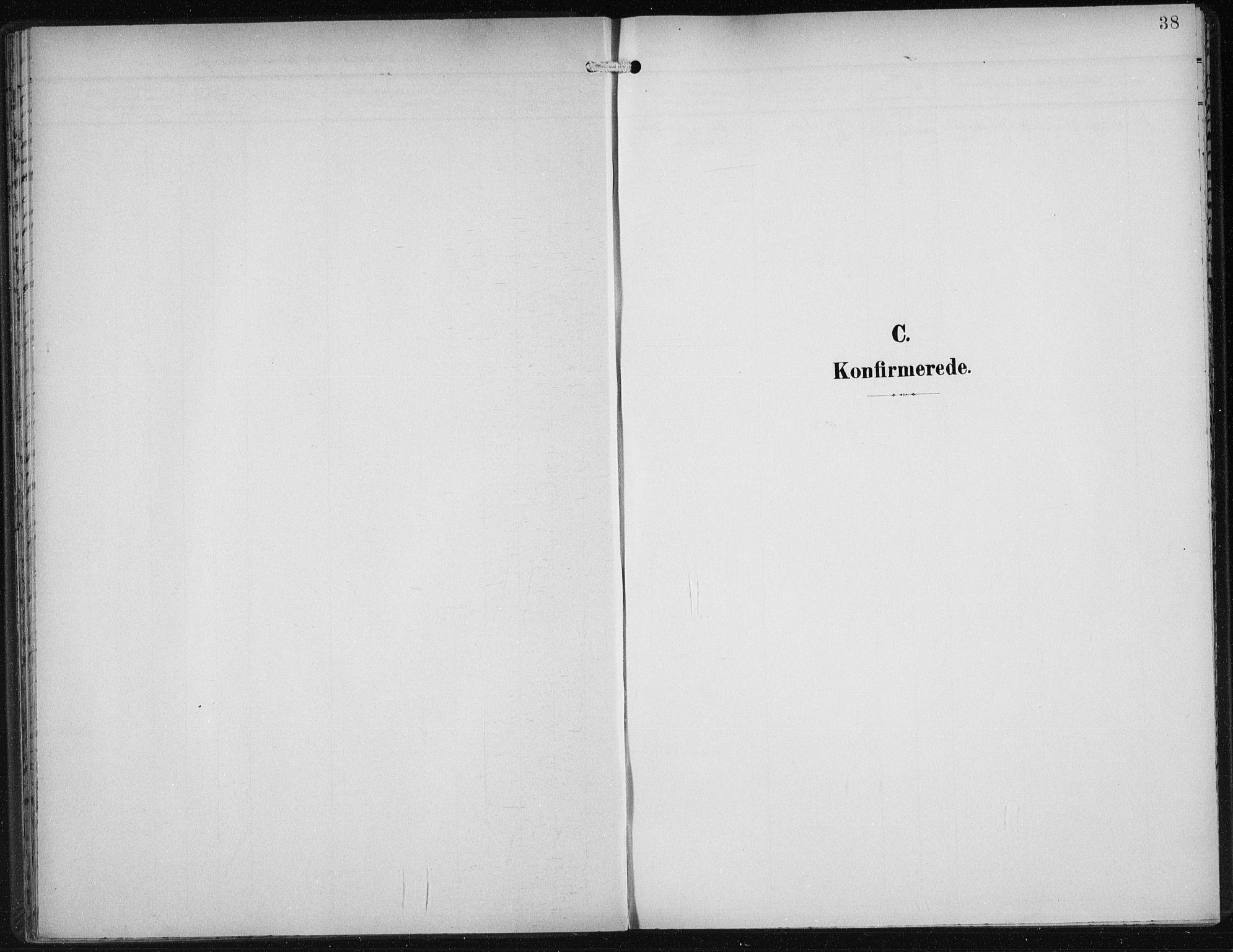 SAB, Den Norske Sjømannsmisjon i utlandet*, Ministerialbok nr. A 5, 1902-1908, s. 38
