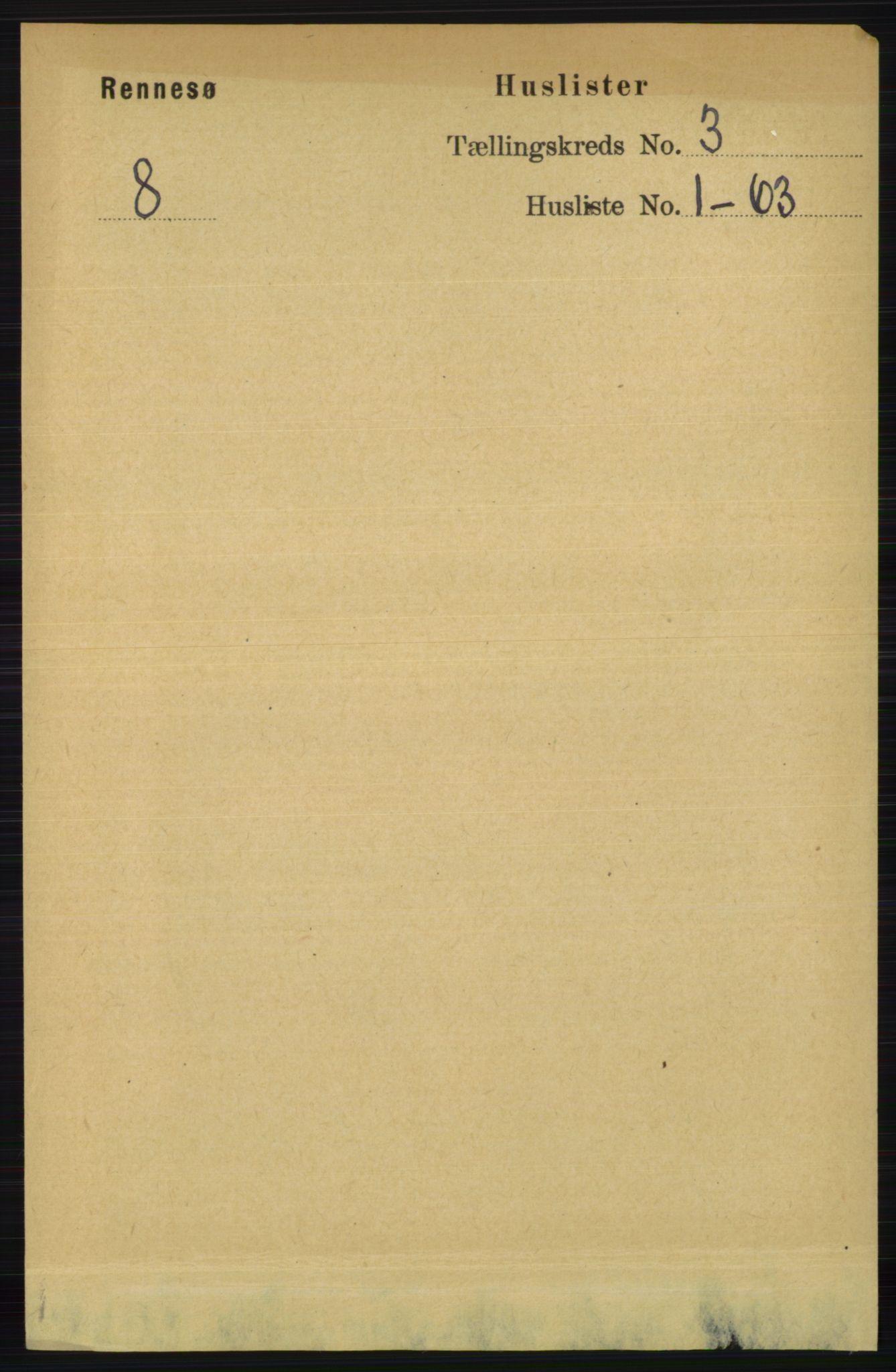 RA, Folketelling 1891 for 1142 Rennesøy herred, 1891, s. 923
