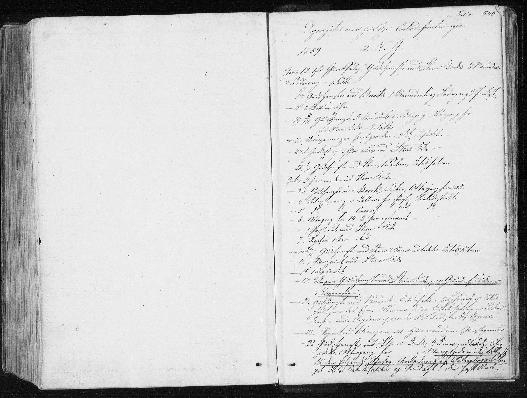 SAT, Ministerialprotokoller, klokkerbøker og fødselsregistre - Sør-Trøndelag, 612/L0377: Ministerialbok nr. 612A09, 1859-1877, s. 540