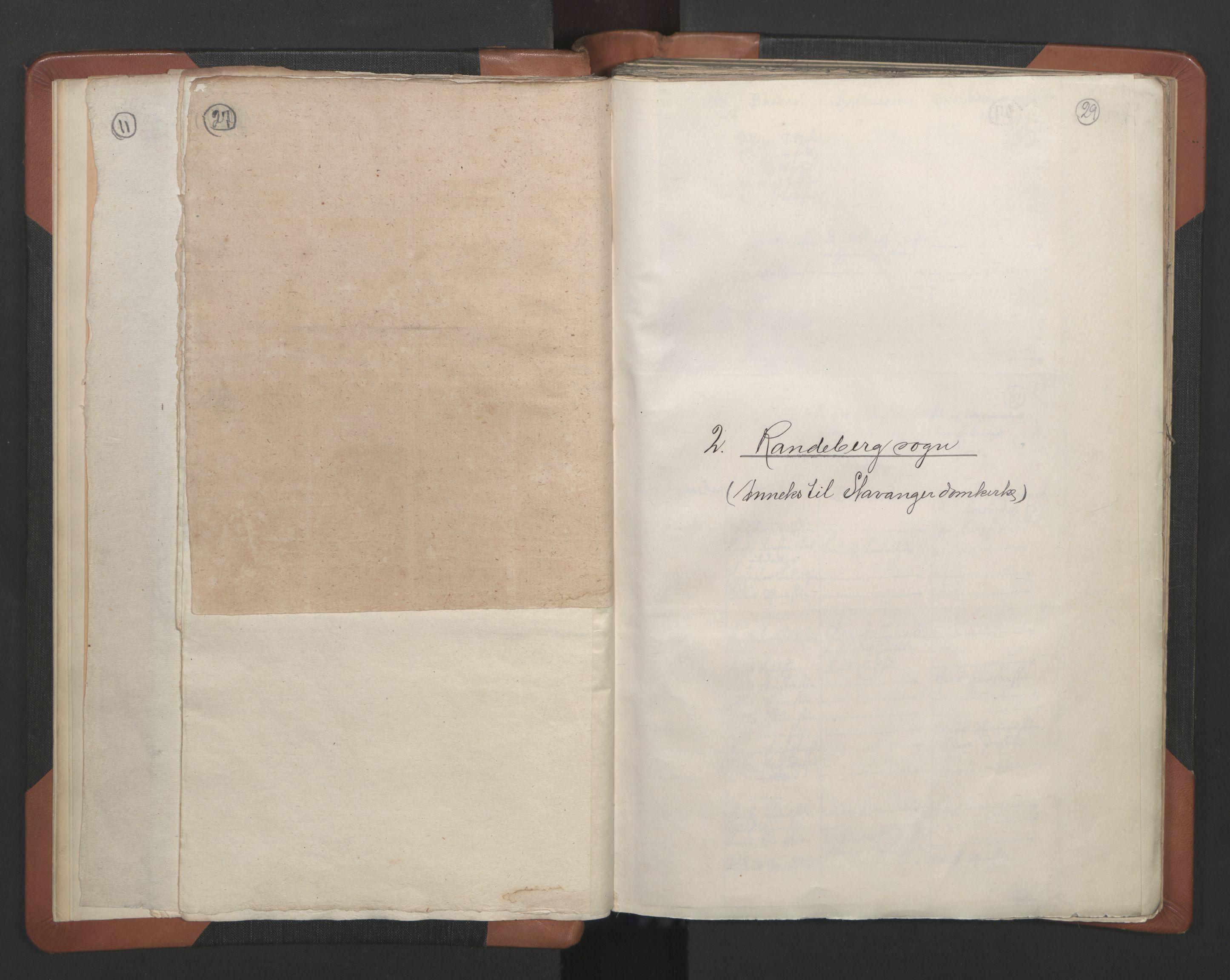 RA, Sogneprestenes manntall 1664-1666, nr. 18: Stavanger prosti og Karmsund prosti, 1664-1666, s. 27-29