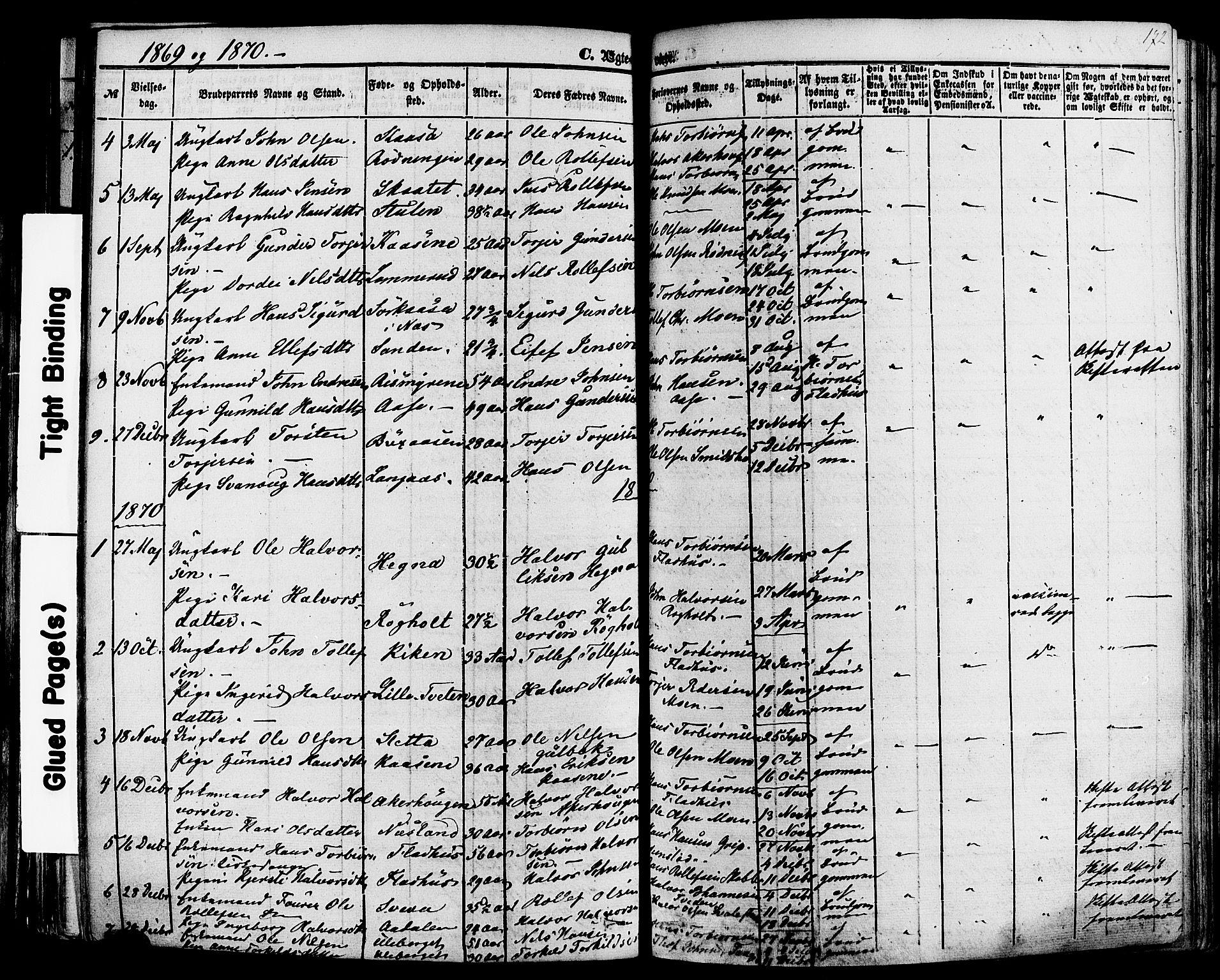 SAKO, Sauherad kirkebøker, F/Fa/L0007: Ministerialbok nr. I 7, 1851-1873, s. 172