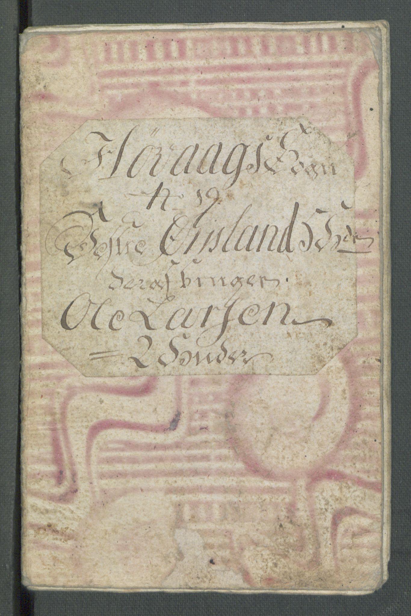 RA, Rentekammeret inntil 1814, Realistisk ordnet avdeling, Od/L0001: Oppløp, 1786-1769, s. 406