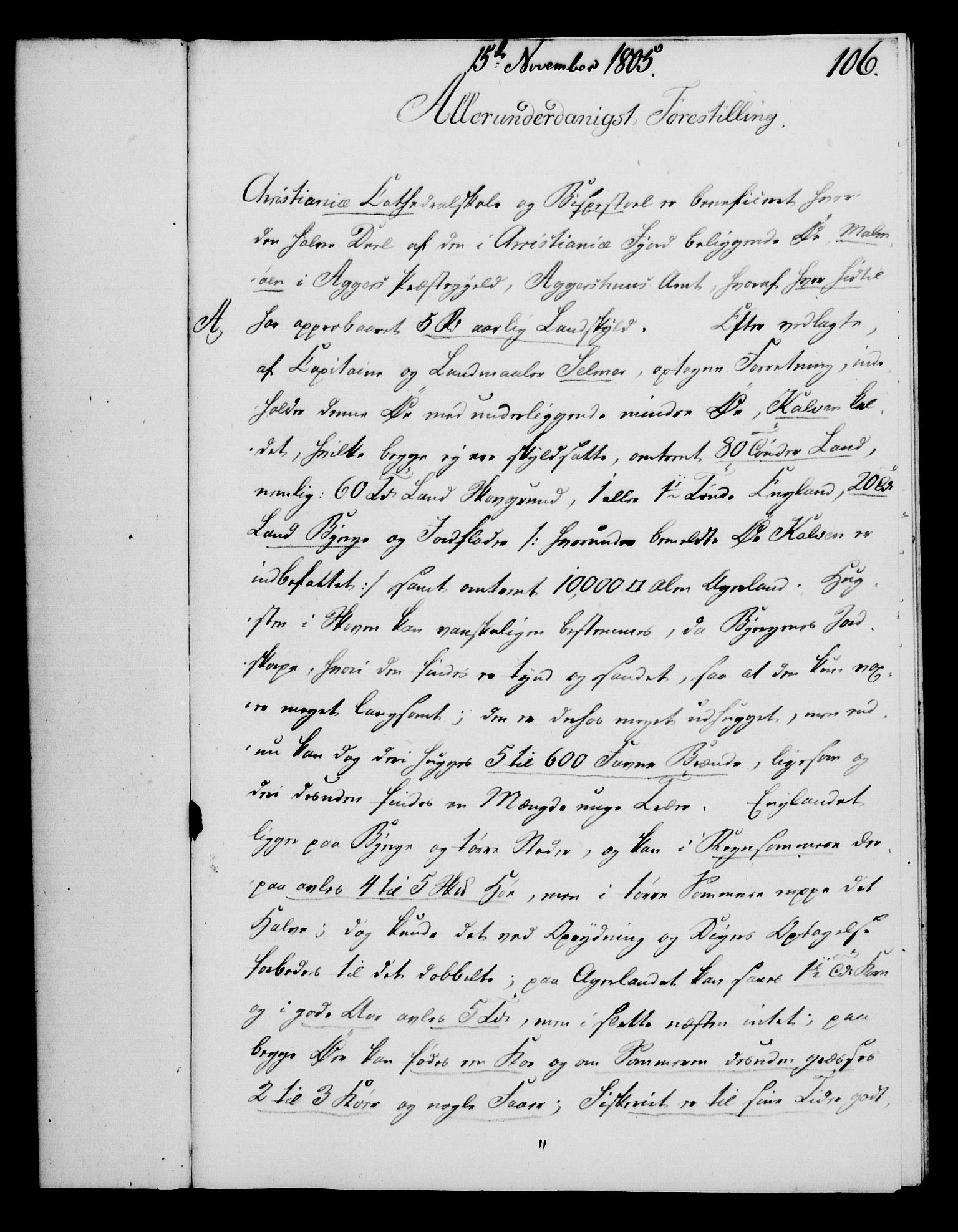RA, Rentekammeret, Kammerkanselliet, G/Gf/Gfa/L0087: Norsk relasjons- og resolusjonsprotokoll (merket RK 52.87), 1805, s. 596