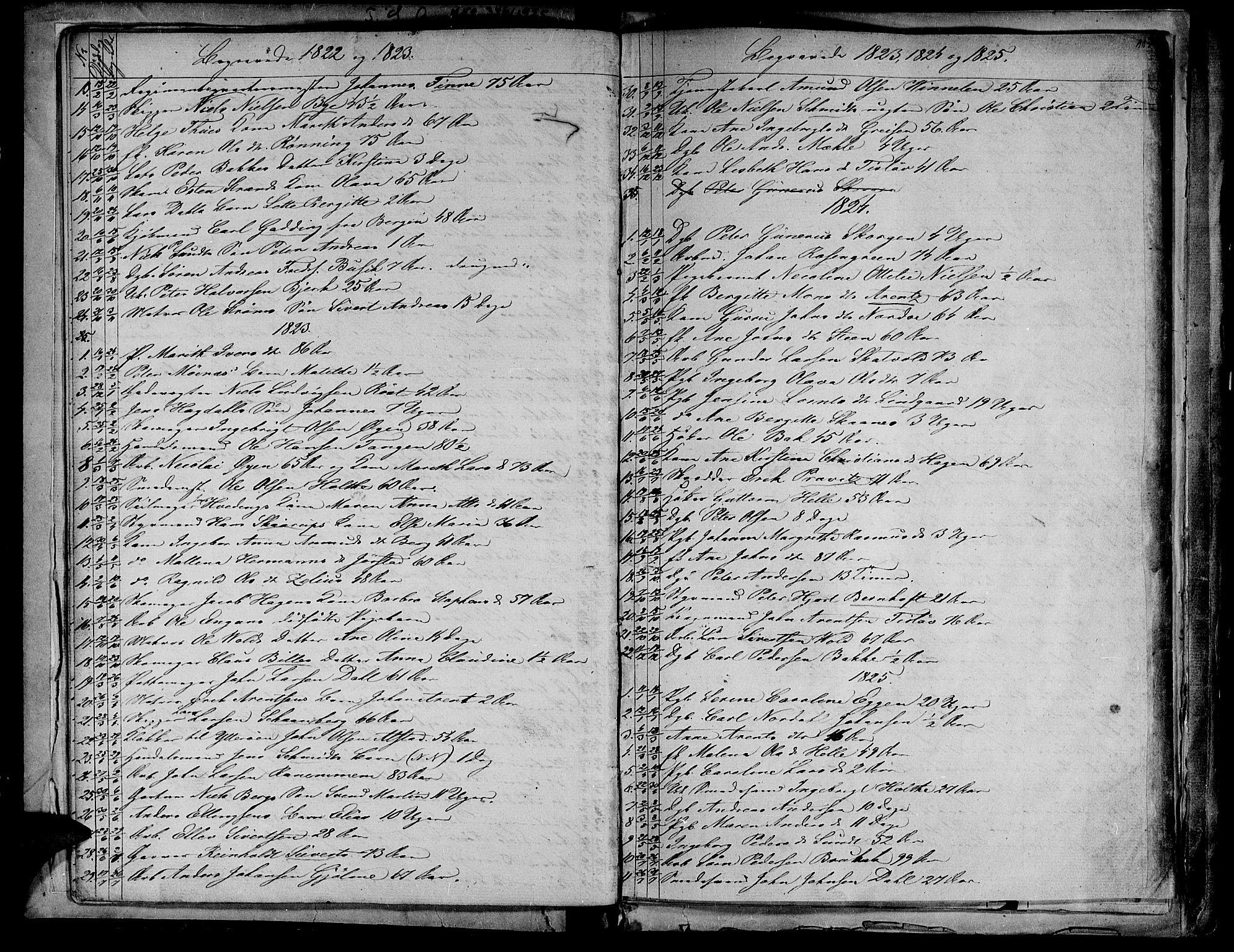 SAT, Ministerialprotokoller, klokkerbøker og fødselsregistre - Sør-Trøndelag, 604/L0182: Ministerialbok nr. 604A03, 1818-1850, s. 11