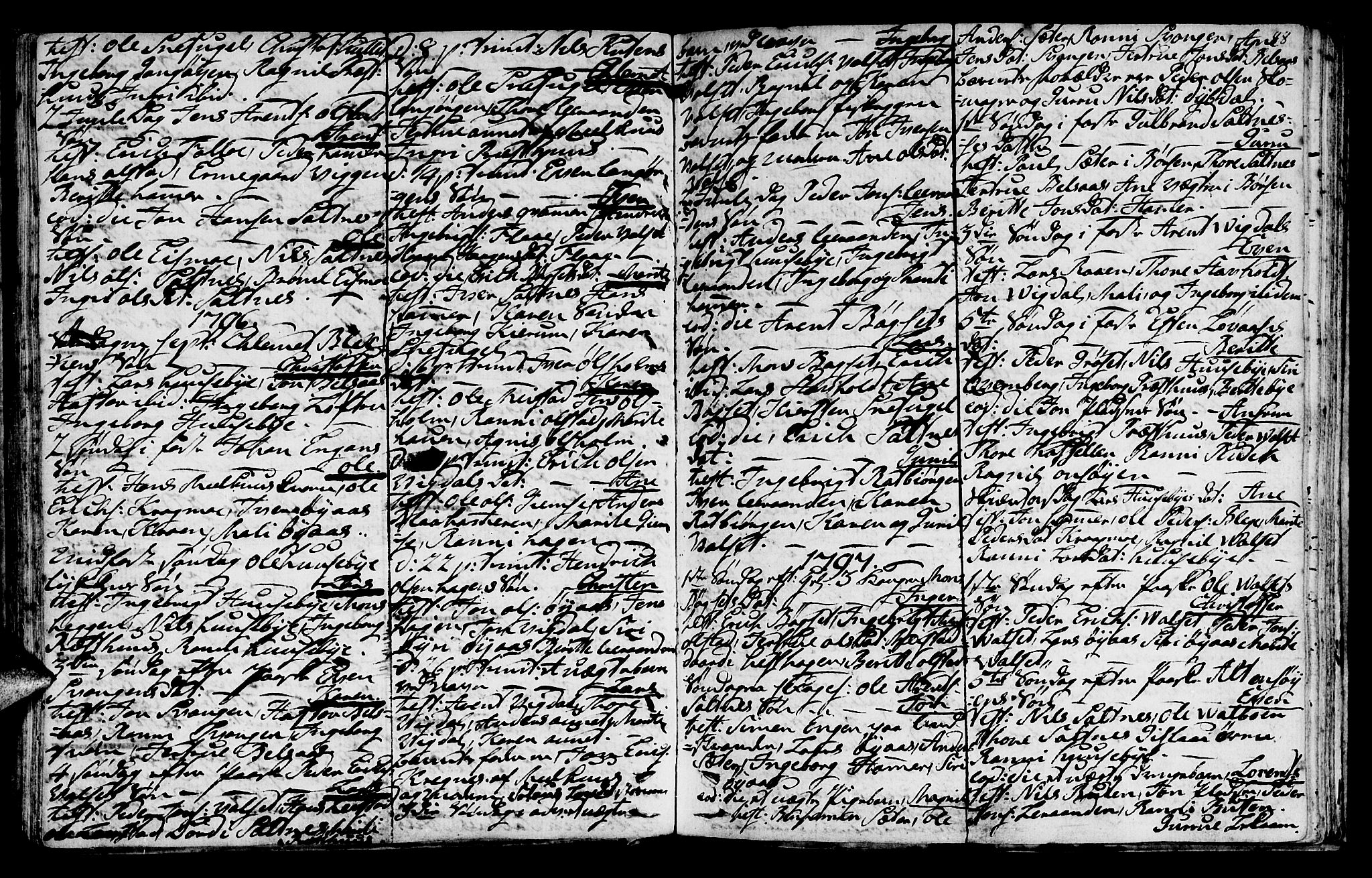 SAT, Ministerialprotokoller, klokkerbøker og fødselsregistre - Sør-Trøndelag, 666/L0784: Ministerialbok nr. 666A02, 1754-1802, s. 88