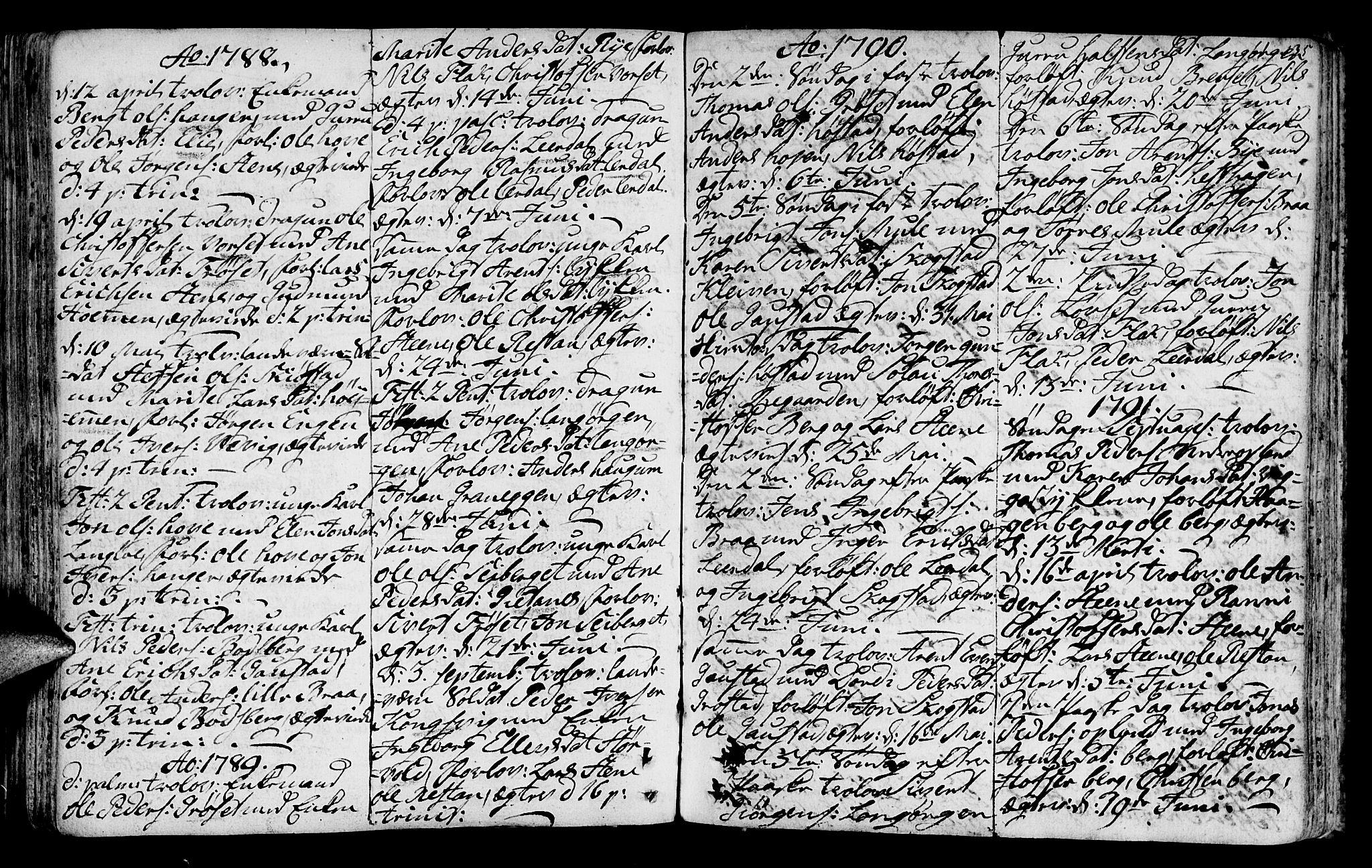 SAT, Ministerialprotokoller, klokkerbøker og fødselsregistre - Sør-Trøndelag, 612/L0370: Ministerialbok nr. 612A04, 1754-1802, s. 135