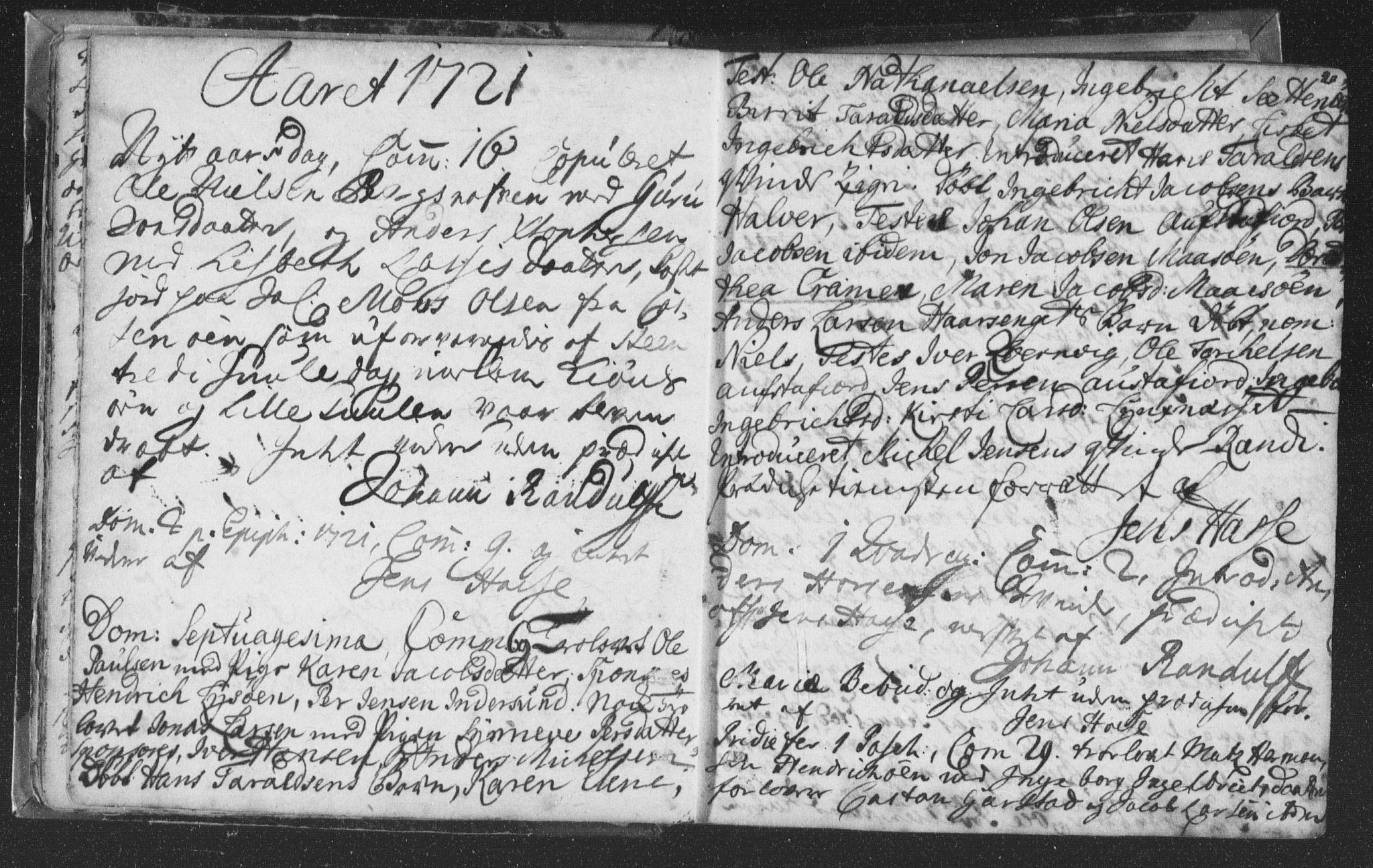 SAT, Ministerialprotokoller, klokkerbøker og fødselsregistre - Nord-Trøndelag, 786/L0685: Ministerialbok nr. 786A01, 1710-1798, s. 20