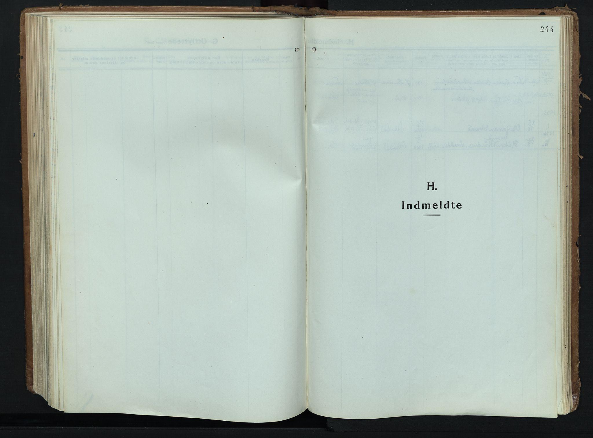 SAH, Alvdal prestekontor, Ministerialbok nr. 6, 1920-1937, s. 244