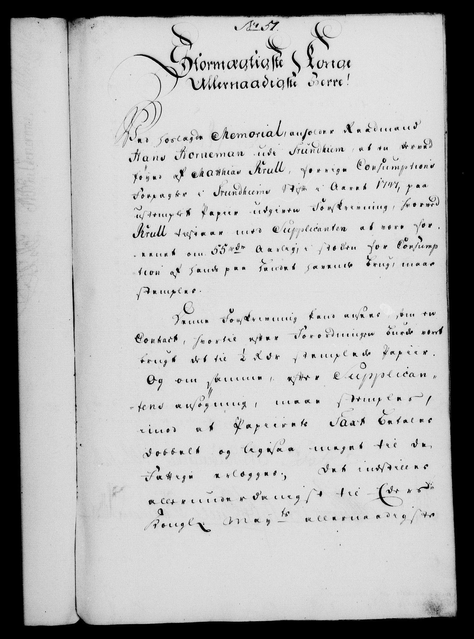 RA, Rentekammeret, Kammerkanselliet, G/Gf/Gfa/L0033: Norsk relasjons- og resolusjonsprotokoll (merket RK 52.33), 1751, s. 276
