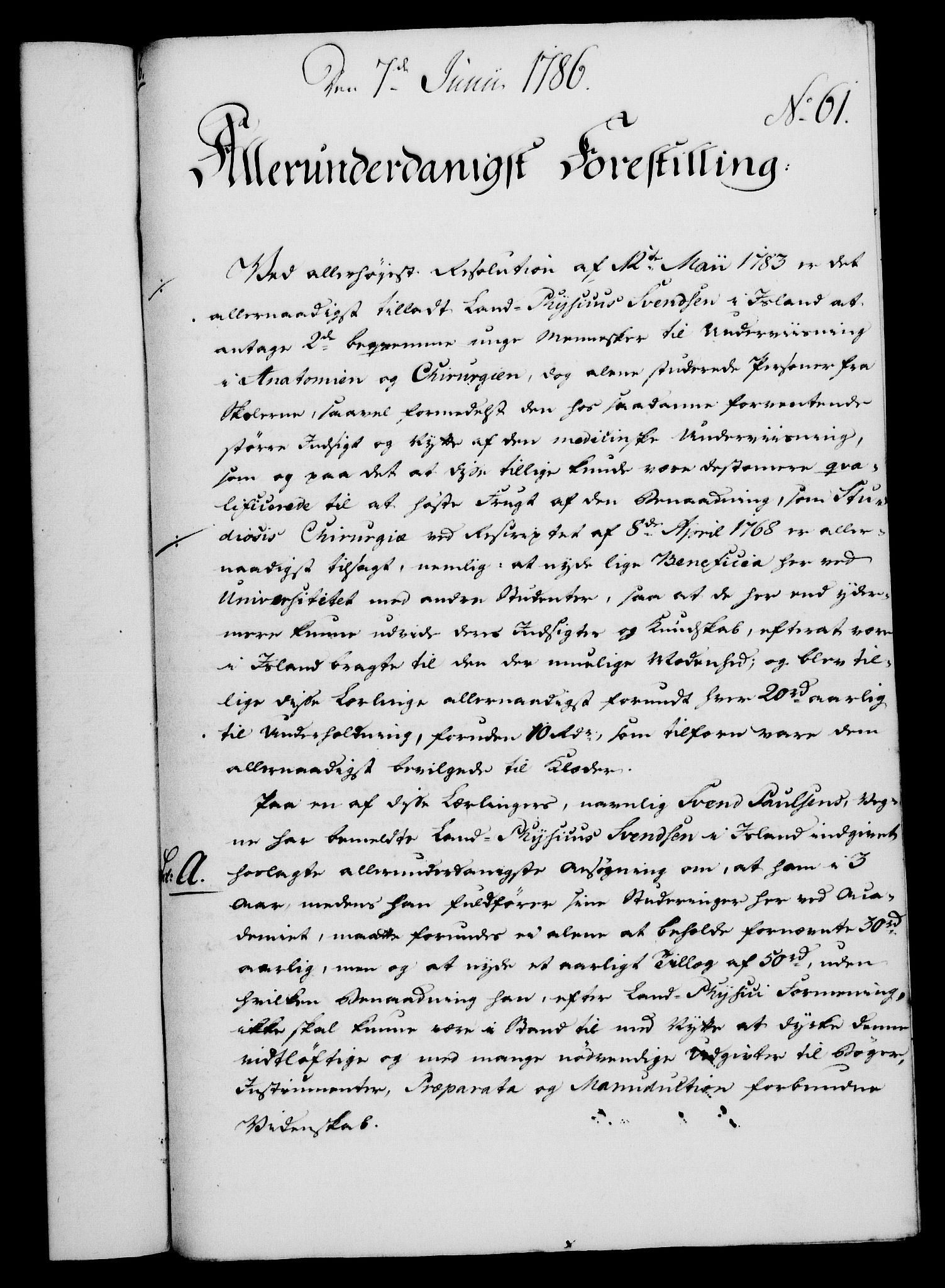 RA, Rentekammeret, Kammerkanselliet, G/Gf/Gfa/L0068: Norsk relasjons- og resolusjonsprotokoll (merket RK 52.68), 1786, s. 405