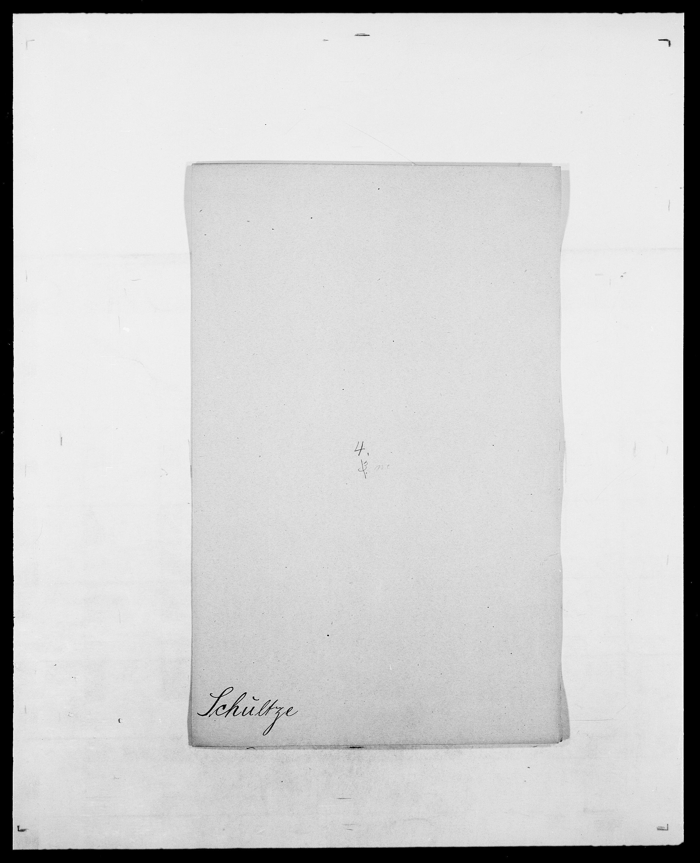 SAO, Delgobe, Charles Antoine - samling, D/Da/L0035: Schnabel - sjetman, s. 328