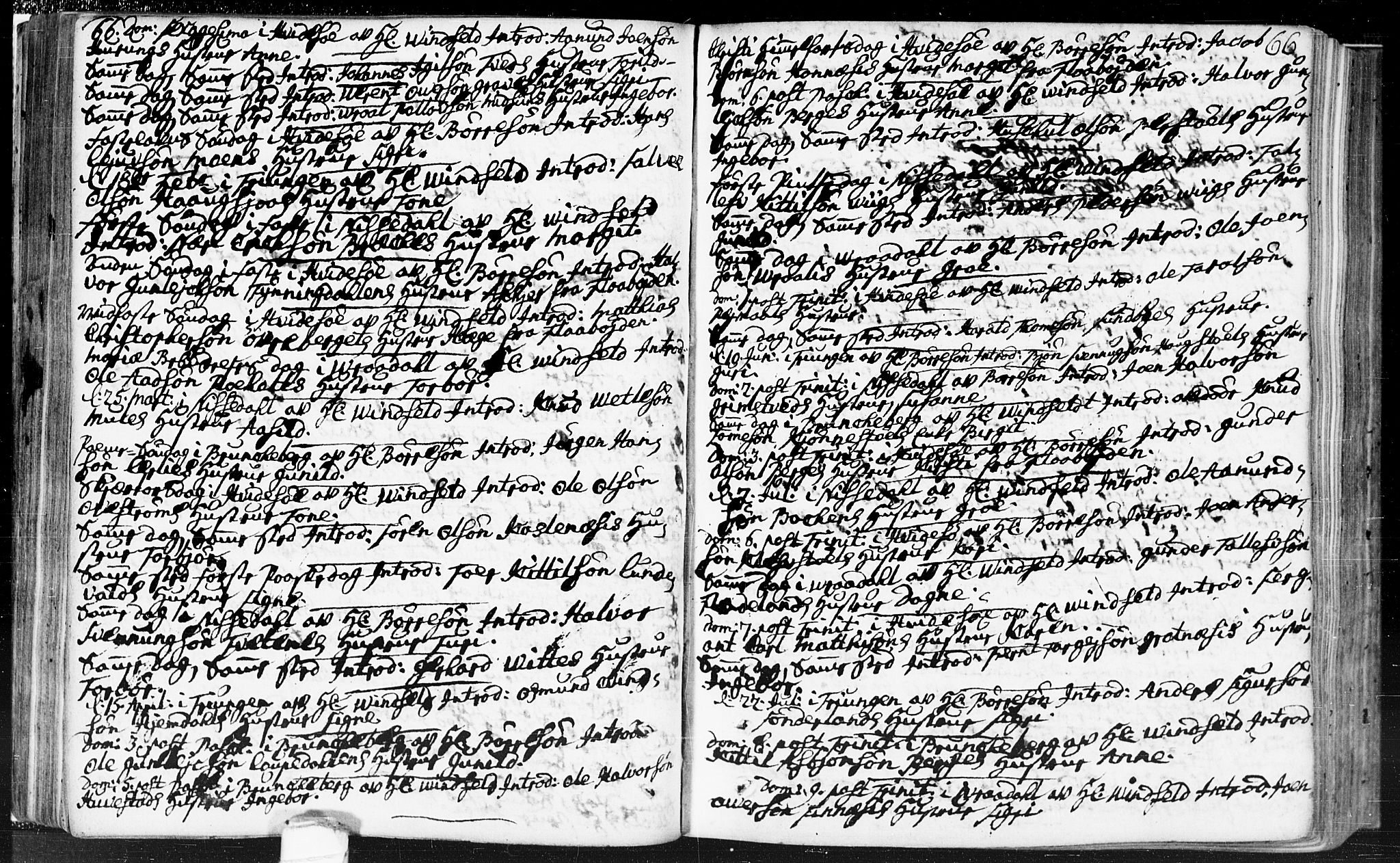 SAKO, Kviteseid kirkebøker, F/Fa/L0002: Ministerialbok nr. I 2, 1773-1786, s. 66