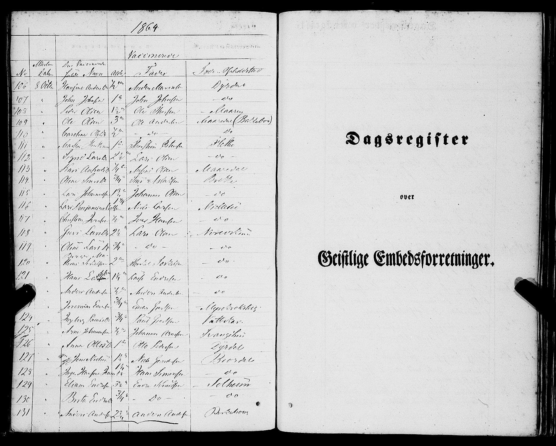 SAB, Lavik Sokneprestembete, Ministerialbok nr. A 3, 1843-1863, s. 60