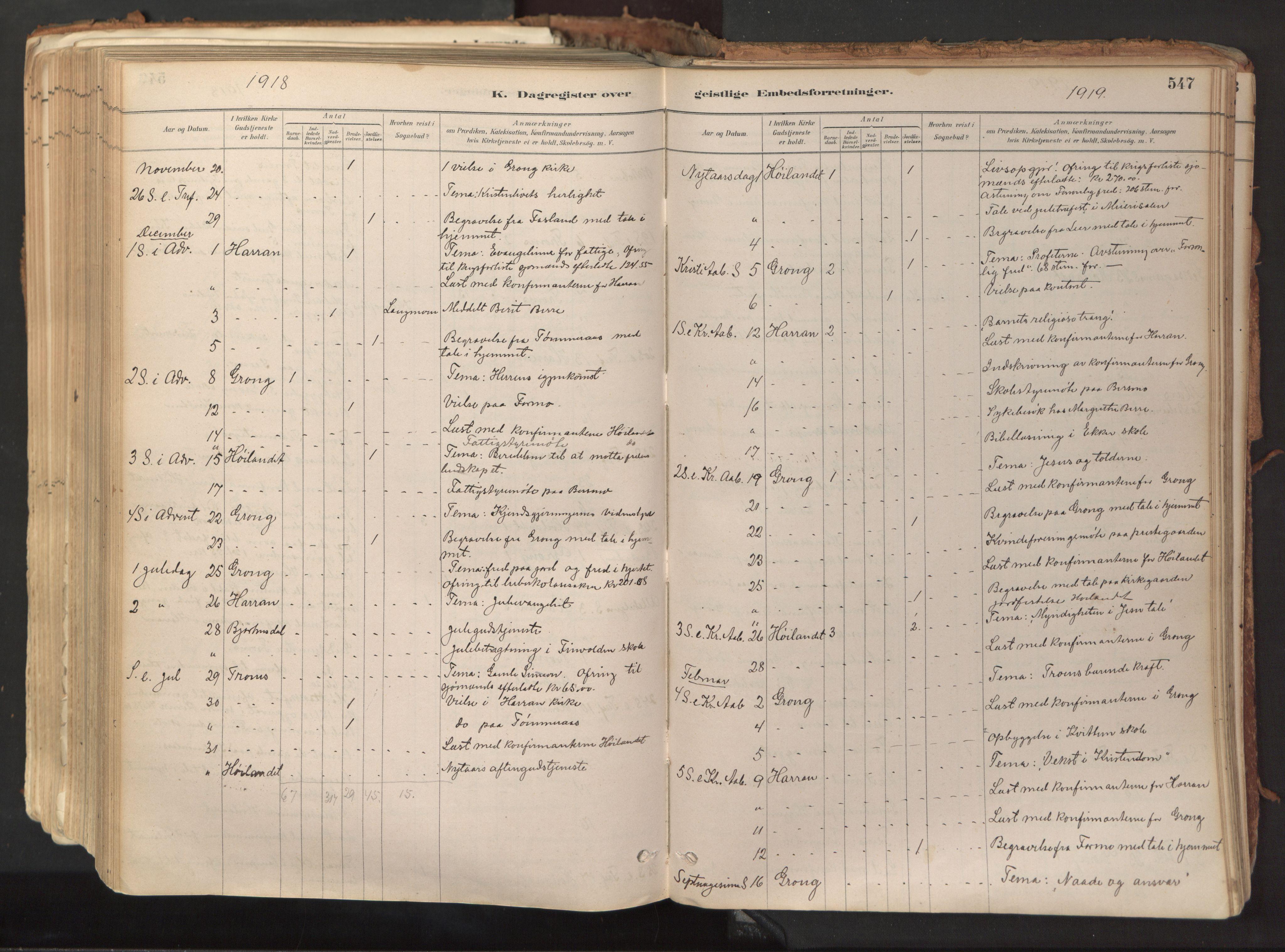 SAT, Ministerialprotokoller, klokkerbøker og fødselsregistre - Nord-Trøndelag, 758/L0519: Ministerialbok nr. 758A04, 1880-1926, s. 547