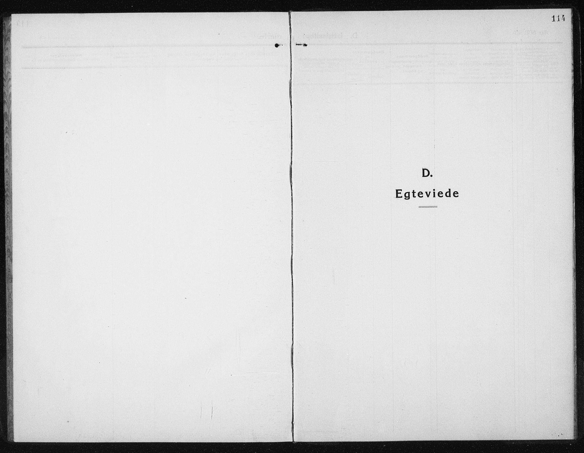 SAT, Ministerialprotokoller, klokkerbøker og fødselsregistre - Sør-Trøndelag, 631/L0515: Klokkerbok nr. 631C03, 1913-1939, s. 114