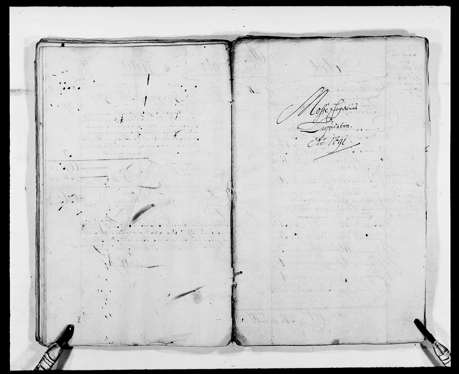 RA, Rentekammeret inntil 1814, Reviderte regnskaper, Fogderegnskap, R02/L0107: Fogderegnskap Moss og Verne kloster, 1685-1691, s. 49