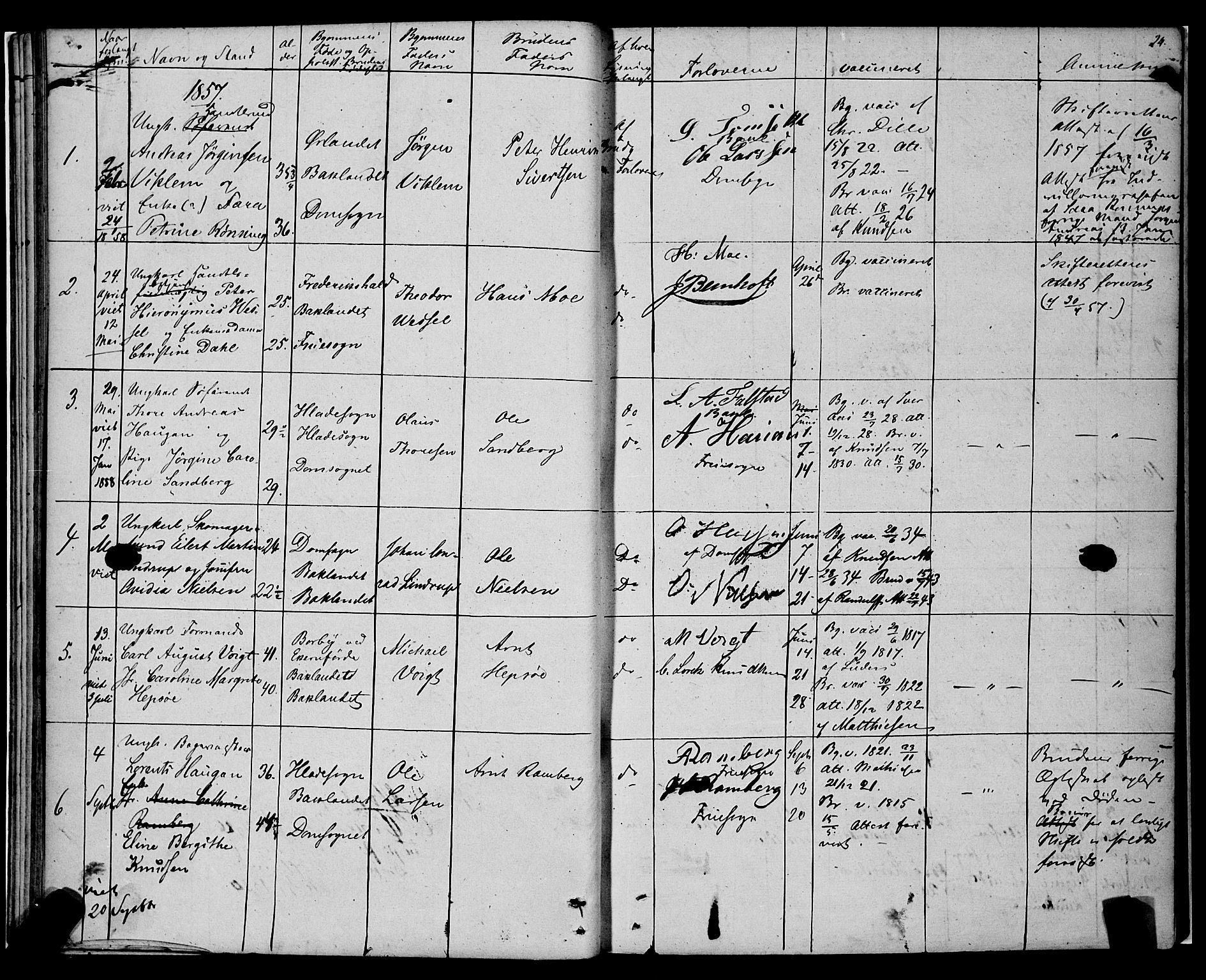 SAT, Ministerialprotokoller, klokkerbøker og fødselsregistre - Sør-Trøndelag, 604/L0187: Ministerialbok nr. 604A08, 1847-1878, s. 24