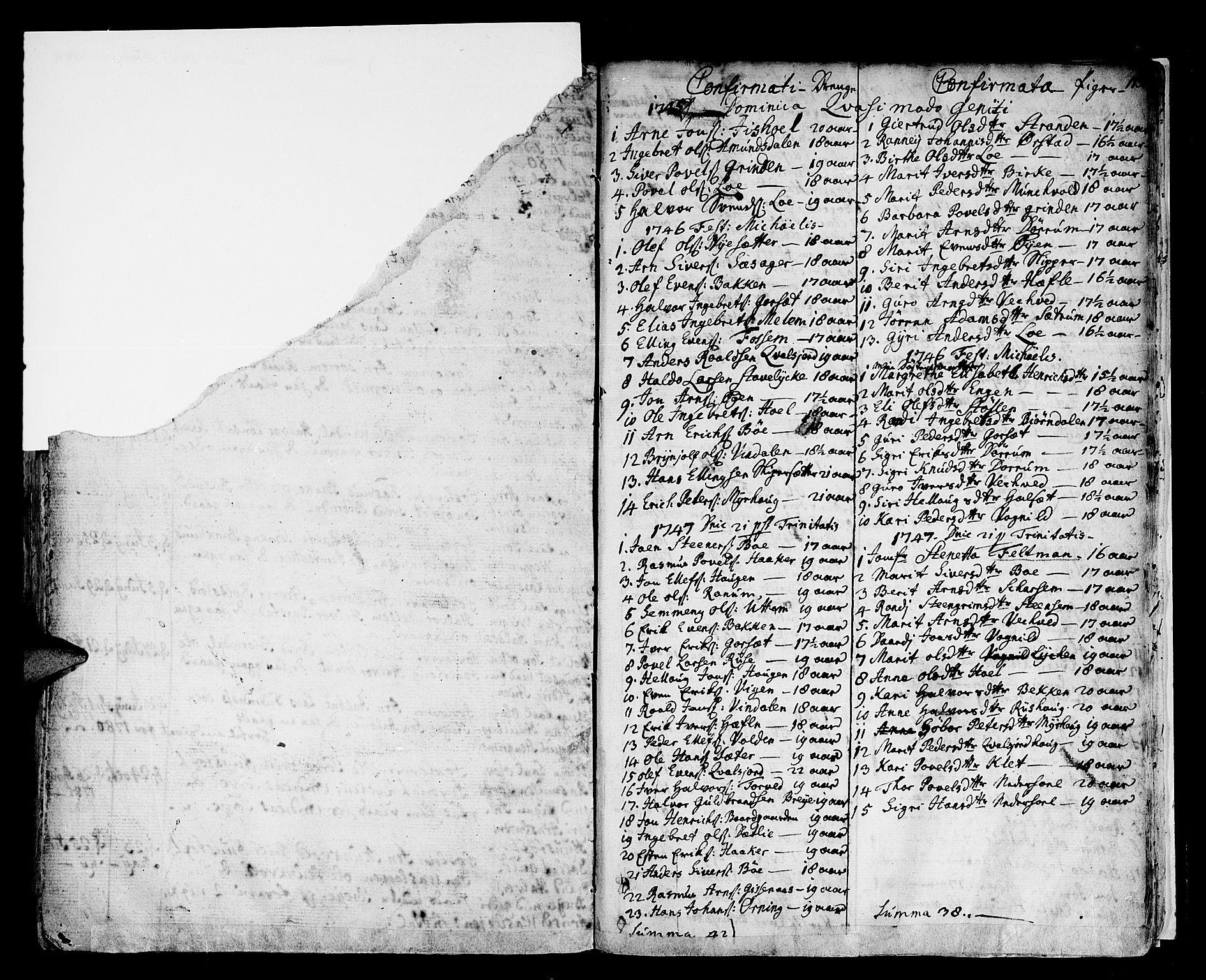 SAT, Ministerialprotokoller, klokkerbøker og fødselsregistre - Sør-Trøndelag, 678/L0891: Ministerialbok nr. 678A01, 1739-1780, s. 185