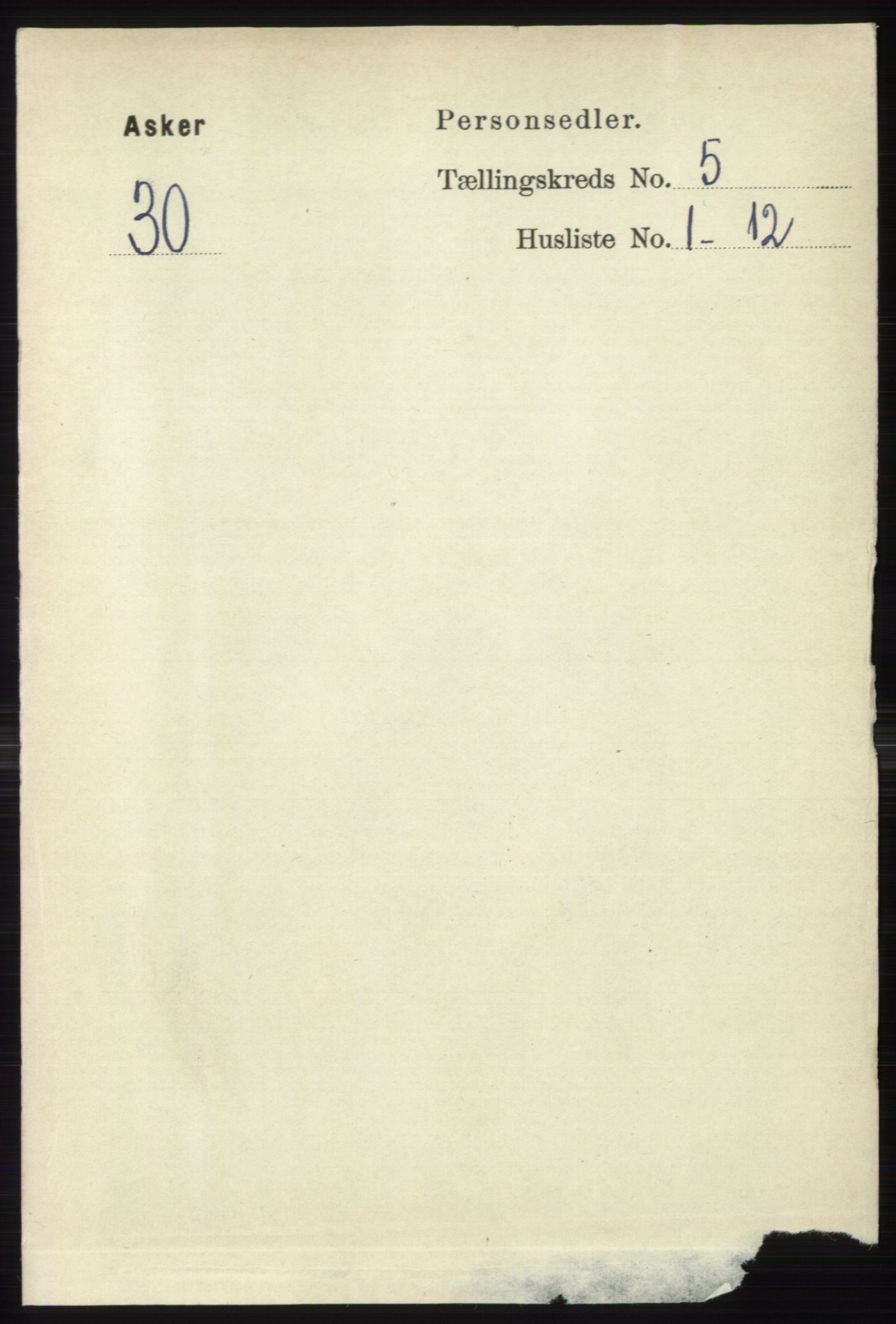 RA, Folketelling 1891 for 0220 Asker herred, 1891, s. 3668