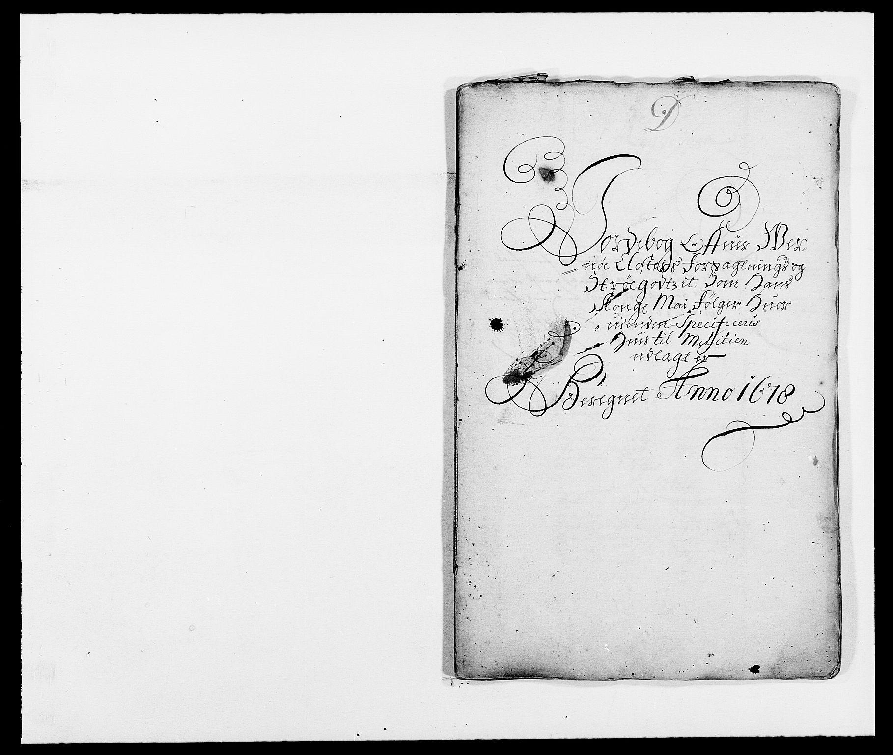 RA, Rentekammeret inntil 1814, Reviderte regnskaper, Fogderegnskap, R02/L0099: Fogderegnskap Moss og Verne kloster, 1678, s. 91