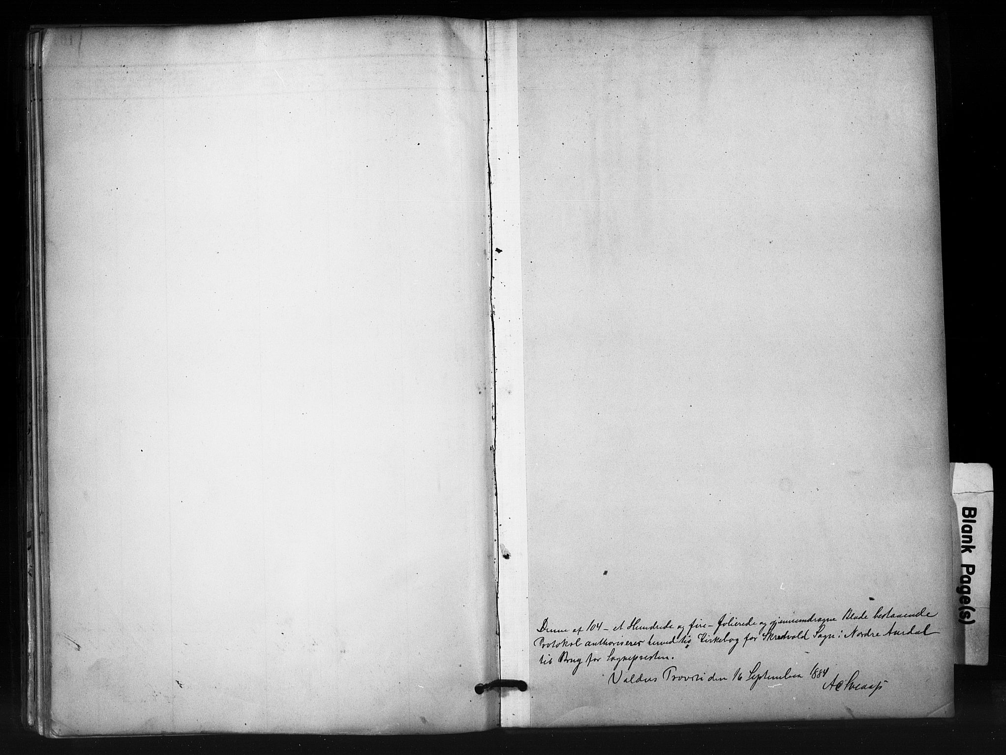 SAH, Nord-Aurdal prestekontor, Ministerialbok nr. 12, 1883-1895