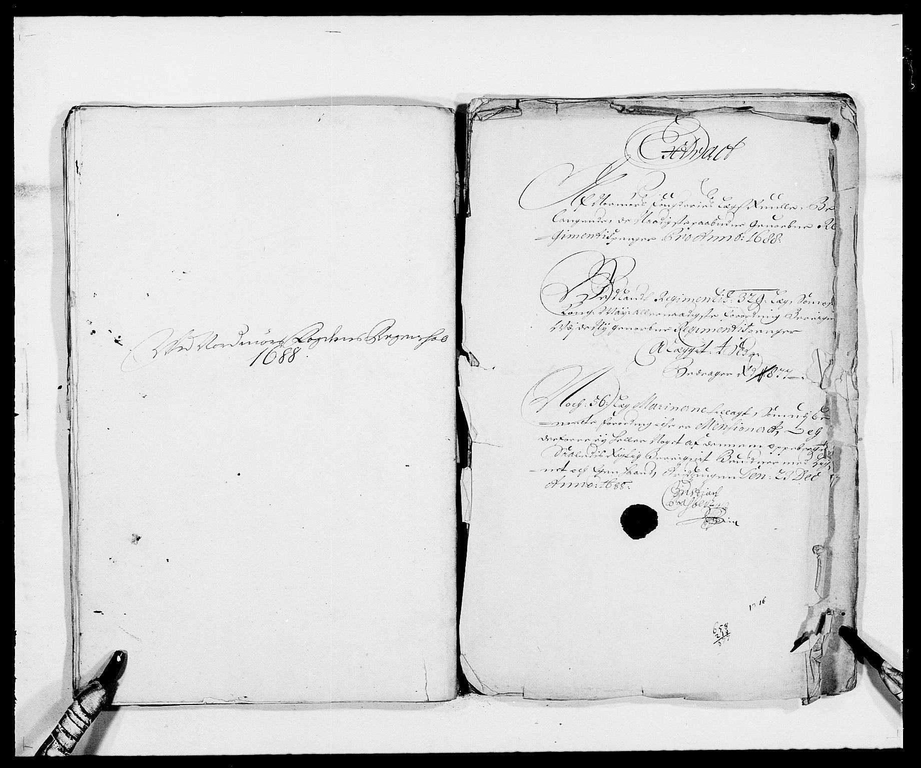 RA, Rentekammeret inntil 1814, Reviderte regnskaper, Fogderegnskap, R56/L3733: Fogderegnskap Nordmøre, 1687-1689, s. 254