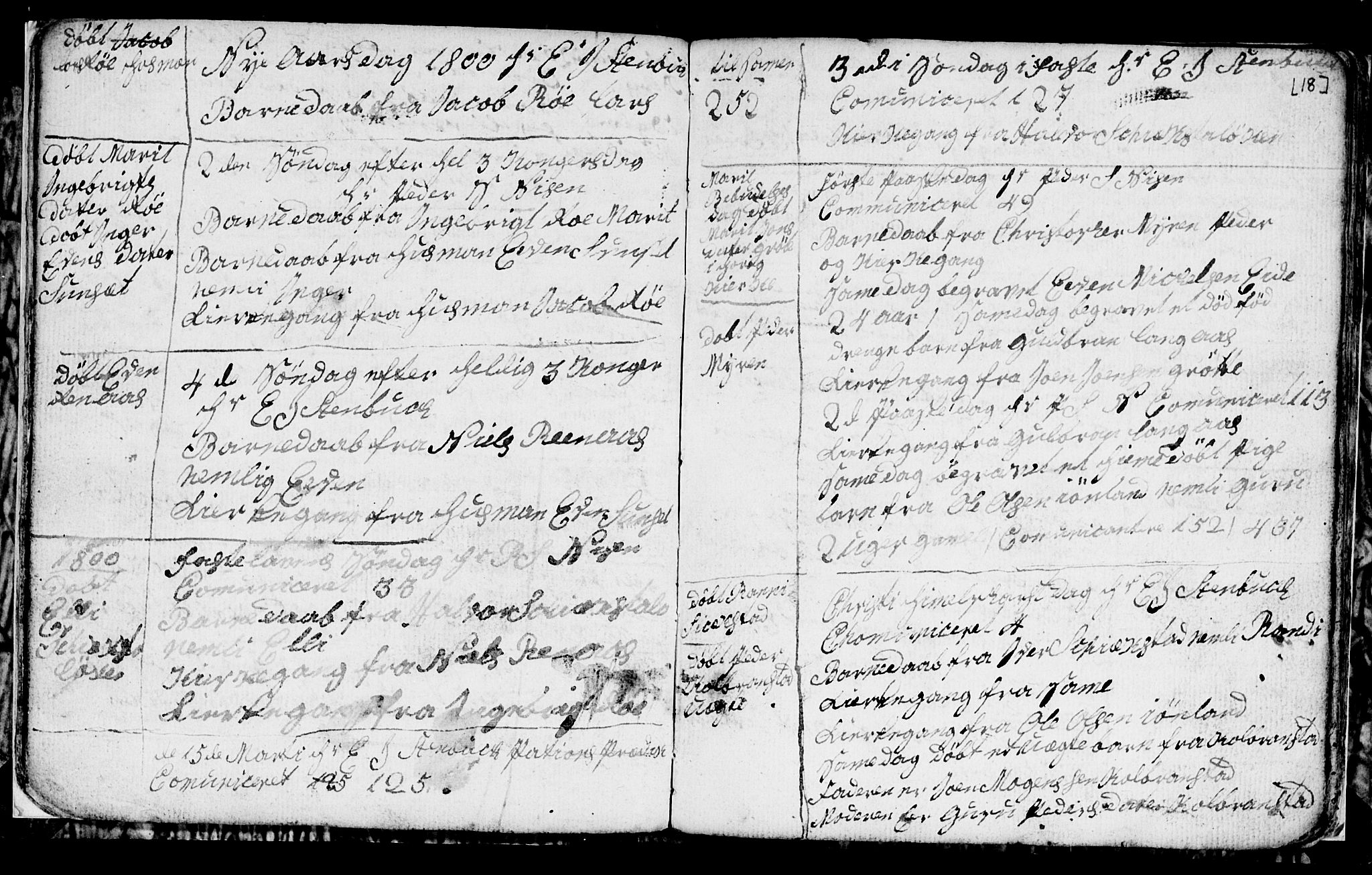 SAT, Ministerialprotokoller, klokkerbøker og fødselsregistre - Sør-Trøndelag, 694/L1129: Klokkerbok nr. 694C01, 1793-1815, s. 18