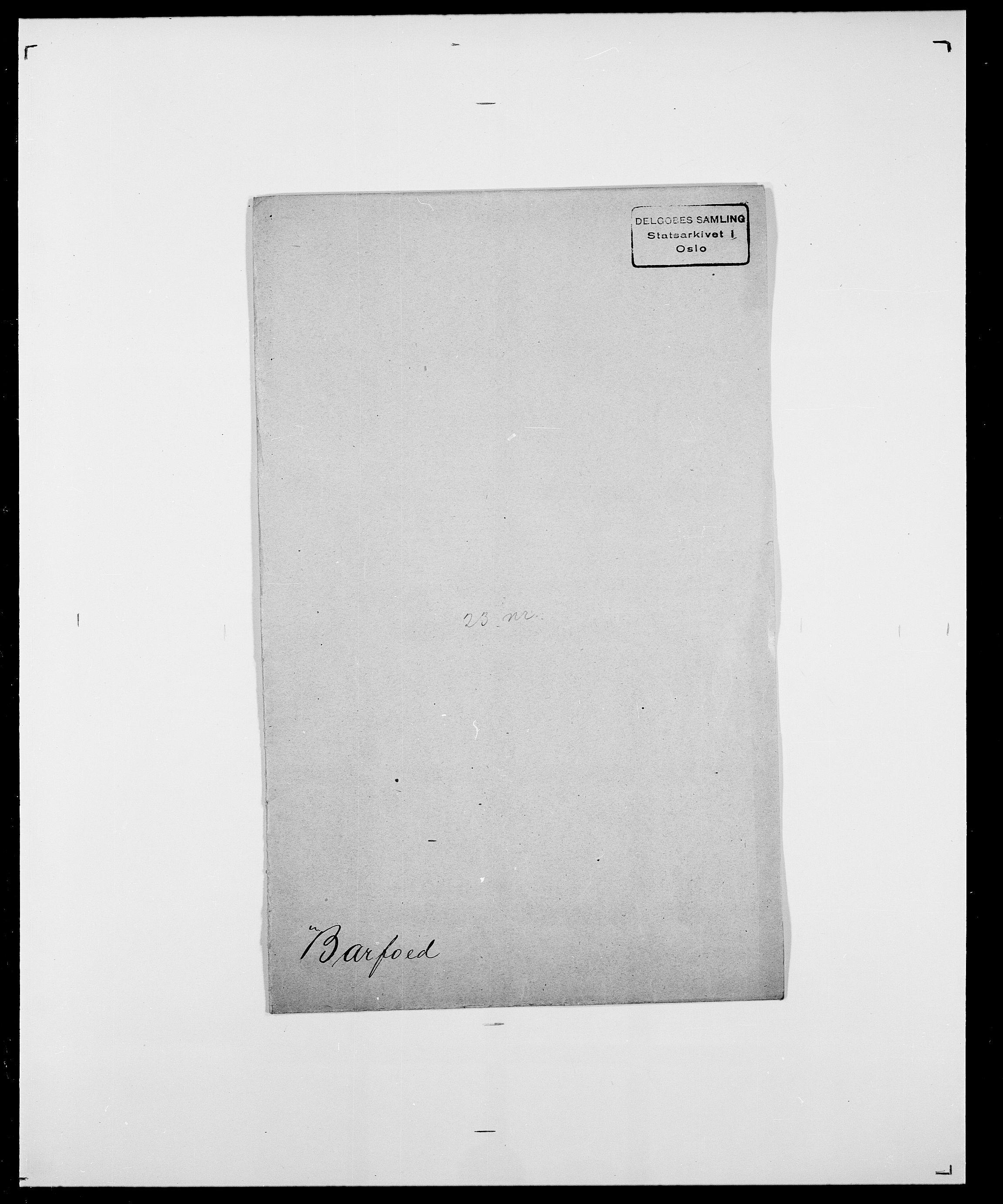 SAO, Delgobe, Charles Antoine - samling, D/Da/L0003: Barca - Bergen, s. 312