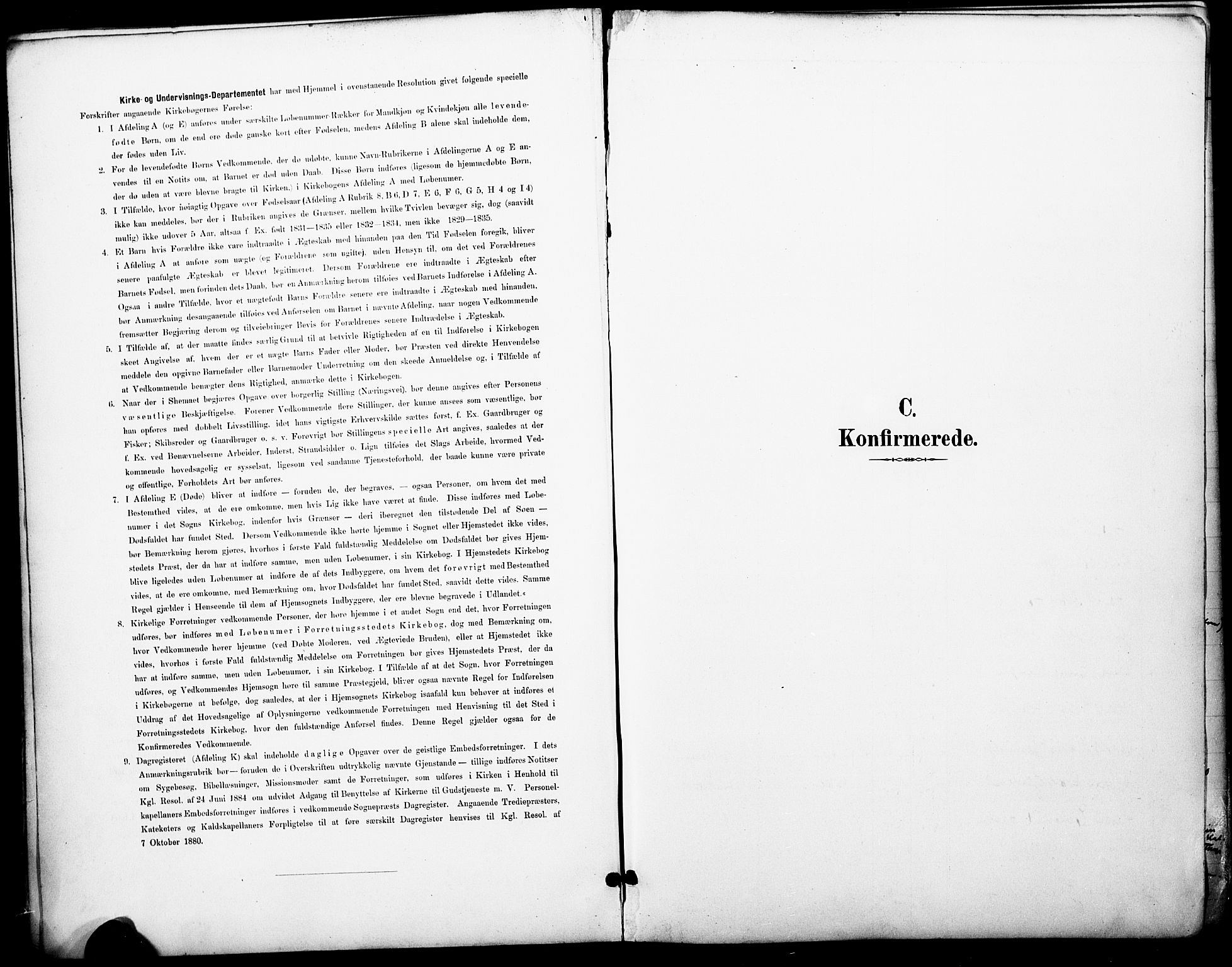 SAO, Petrus prestekontor Kirkebøker, F/Fa/L0006: Ministerialbok nr. 6, 1889-1908