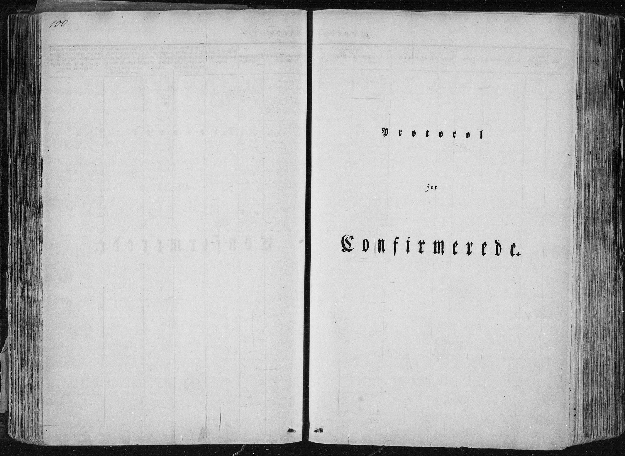 SAKO, Sannidal kirkebøker, F/Fa/L0007: Ministerialbok nr. 7, 1831-1854, s. 100