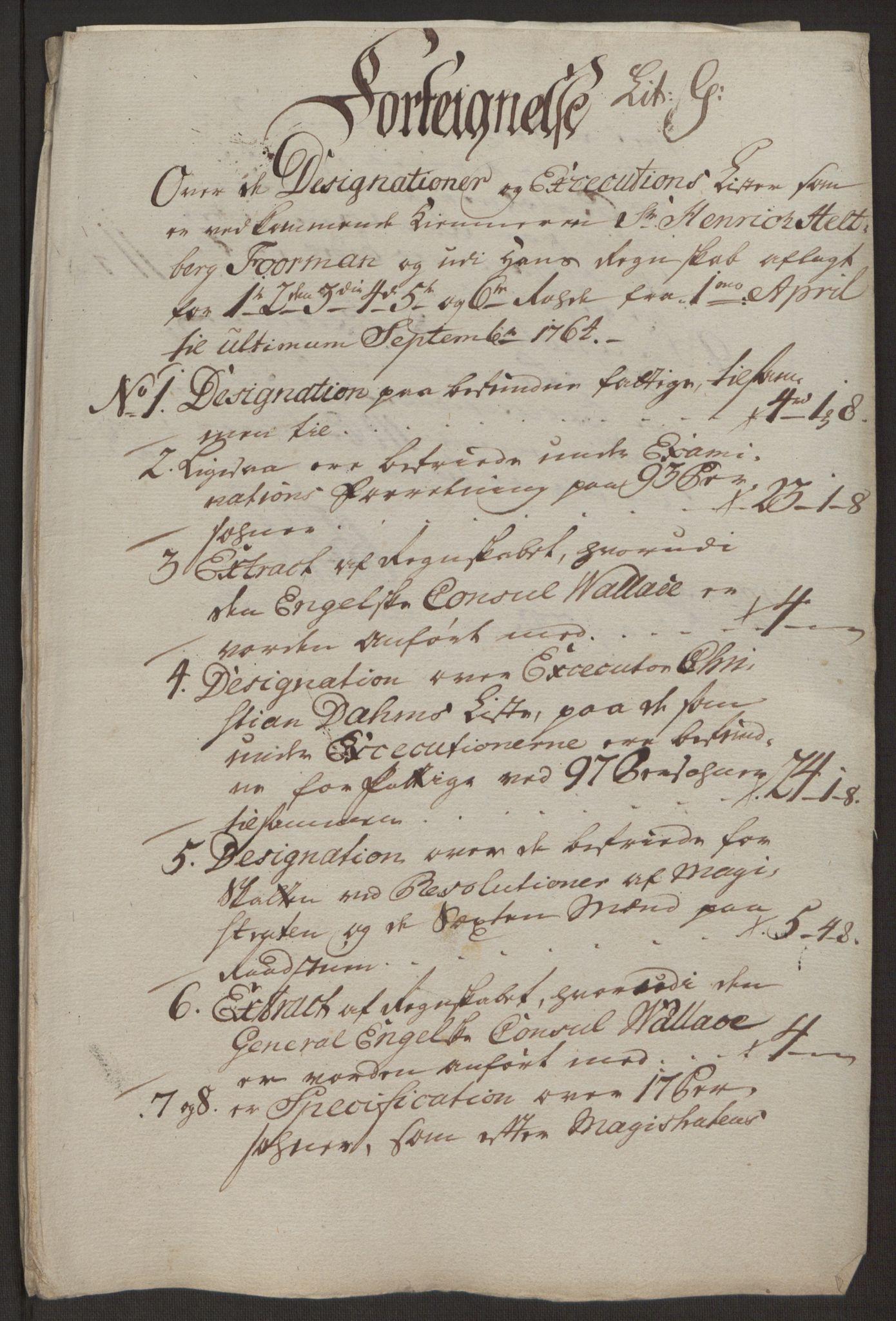 RA, Rentekammeret inntil 1814, Reviderte regnskaper, Byregnskaper, R/Rp/L0367: [P21] Kontribusjonsregnskap, 1764, s. 144