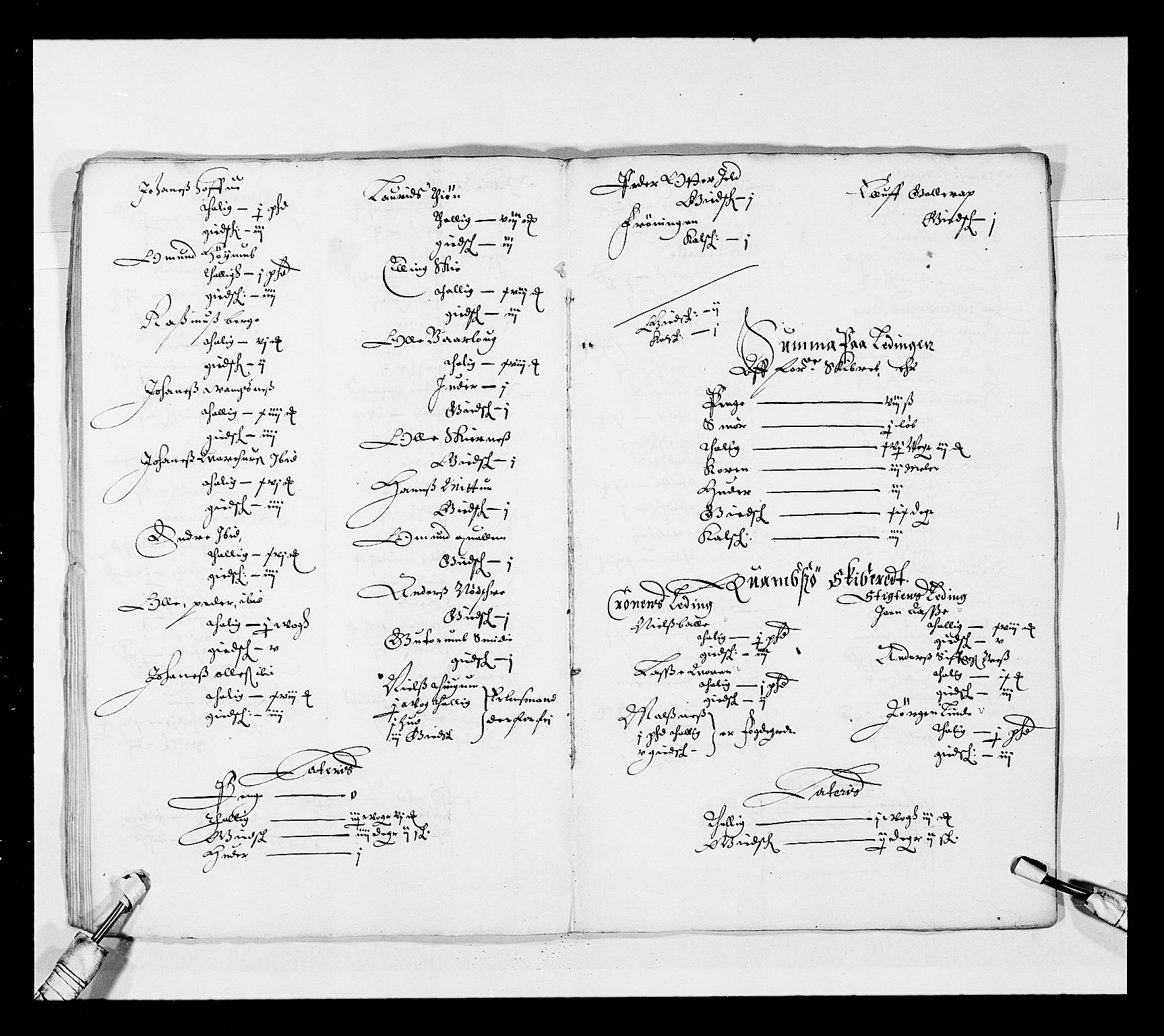 RA, Stattholderembetet 1572-1771, Ek/L0025: Jordebøker 1633-1658:, 1645-1646, s. 128