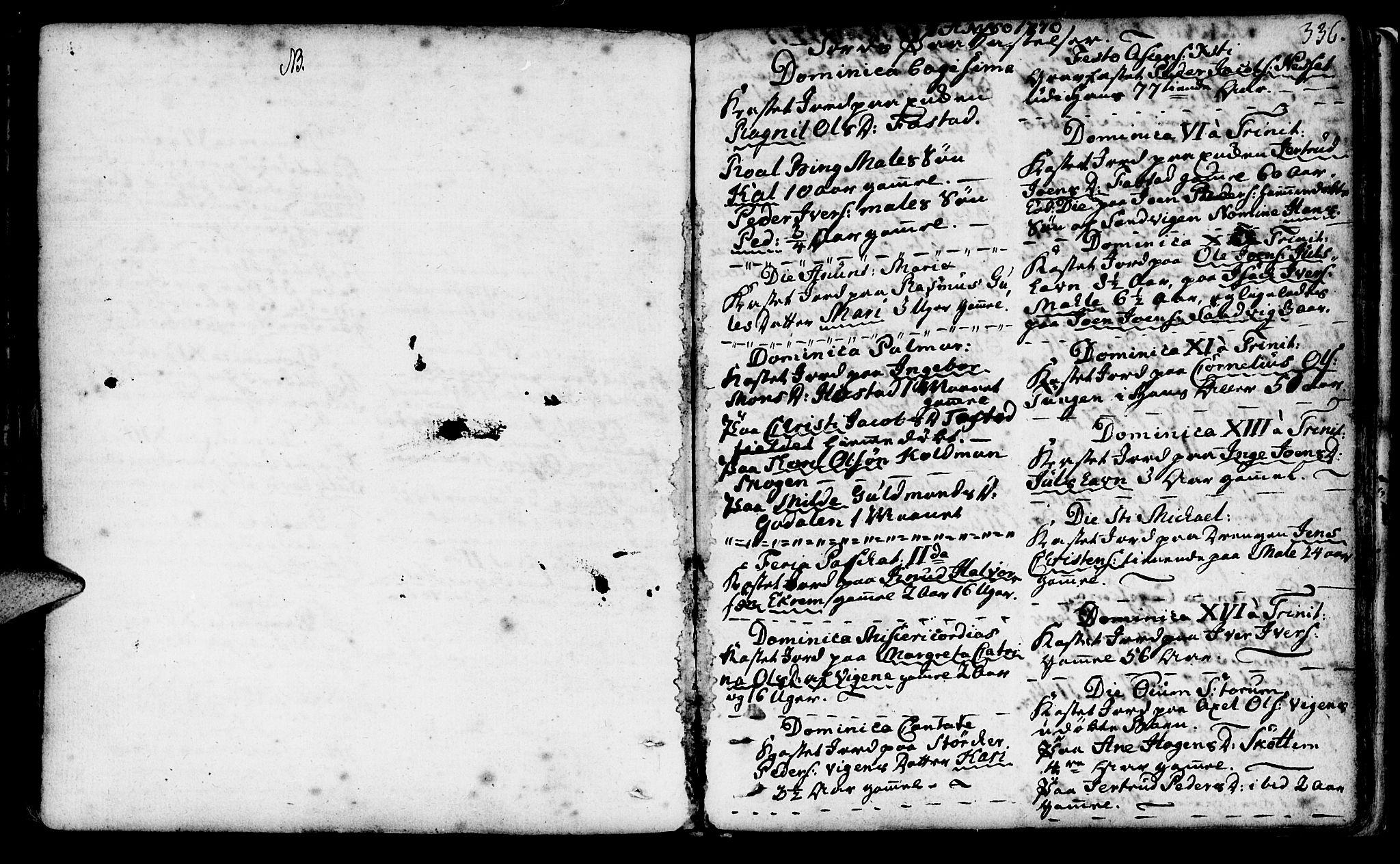 SAT, Ministerialprotokoller, klokkerbøker og fødselsregistre - Møre og Romsdal, 566/L0761: Ministerialbok nr. 566A02 /1, 1767-1817, s. 336