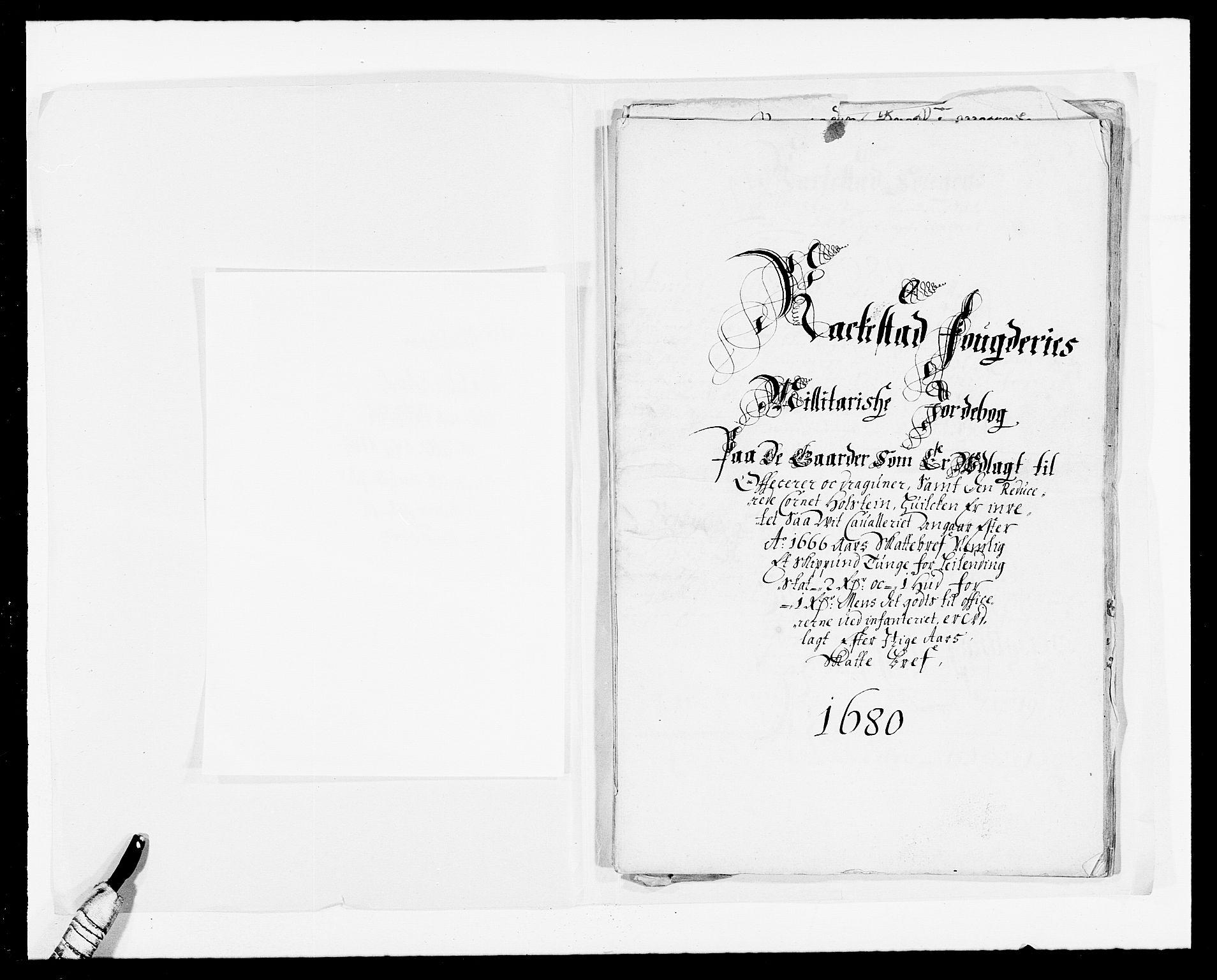 RA, Rentekammeret inntil 1814, Reviderte regnskaper, Fogderegnskap, R05/L0272: Fogderegnskap Rakkestad, 1680-1681, s. 404
