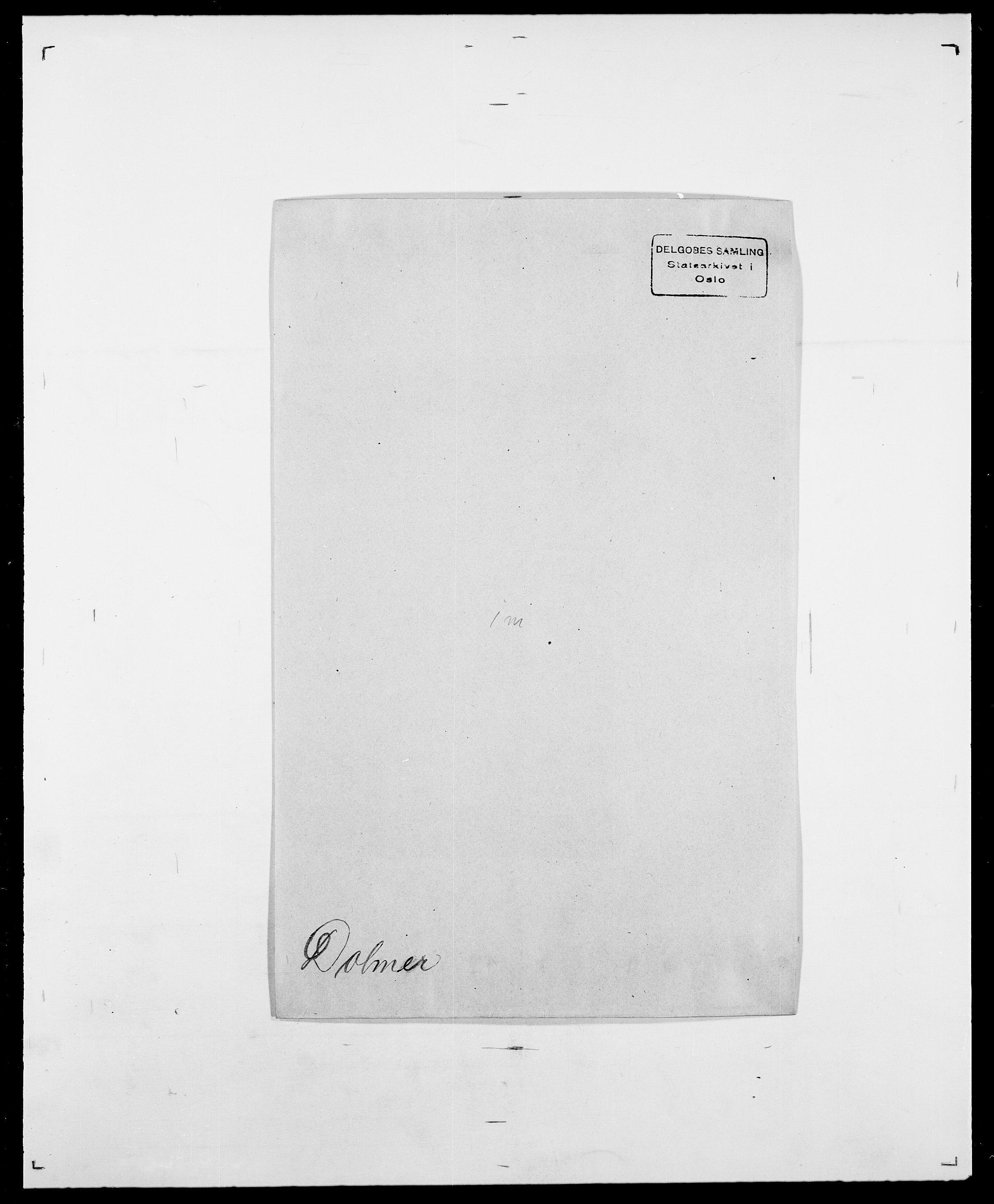 SAO, Delgobe, Charles Antoine - samling, D/Da/L0009: Dahl - v. Düren, s. 641