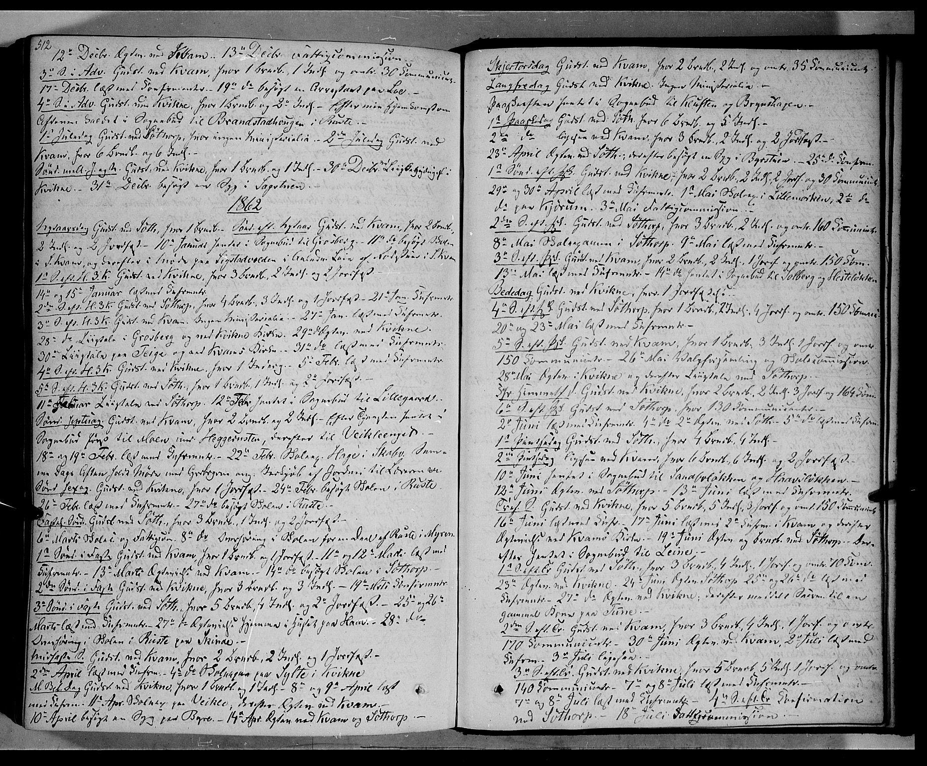 SAH, Nord-Fron prestekontor, Ministerialbok nr. 1, 1851-1864, s. 512