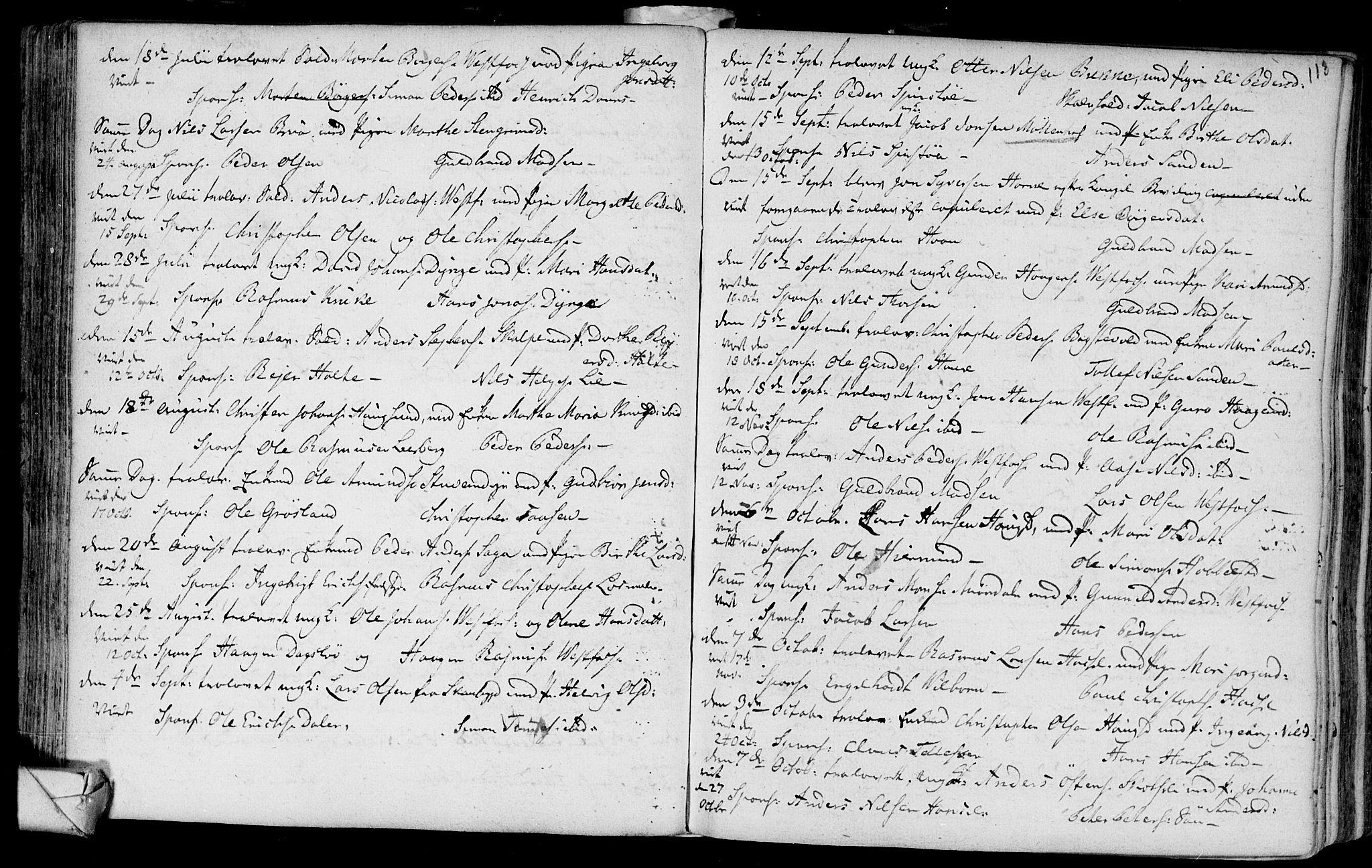 SAKO, Eiker kirkebøker, F/Fa/L0007: Ministerialbok nr. I 7 /1, 1733-1808, s. 113