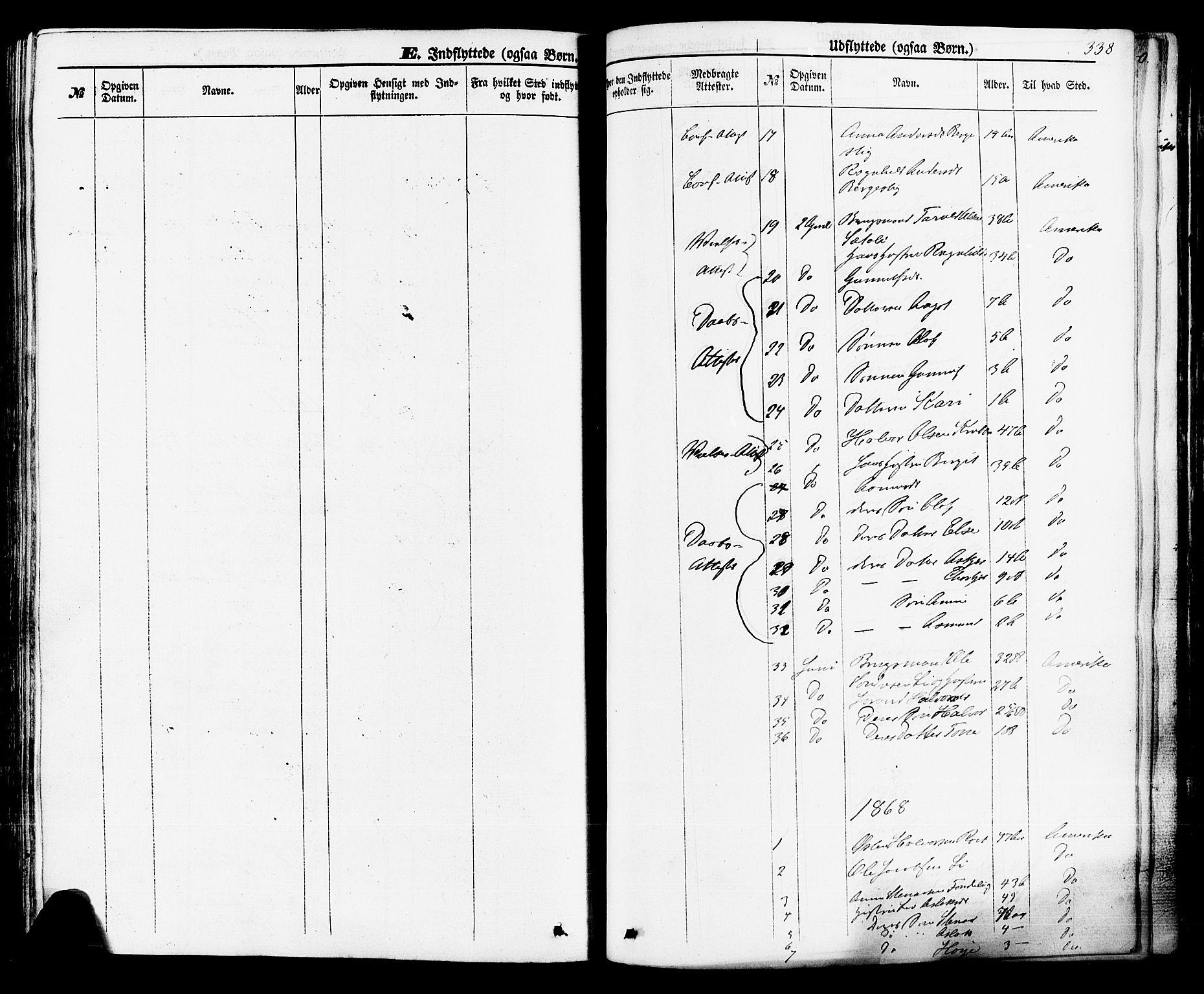 SAKO, Rauland kirkebøker, F/Fa/L0003: Ministerialbok nr. 3, 1859-1886, s. 338