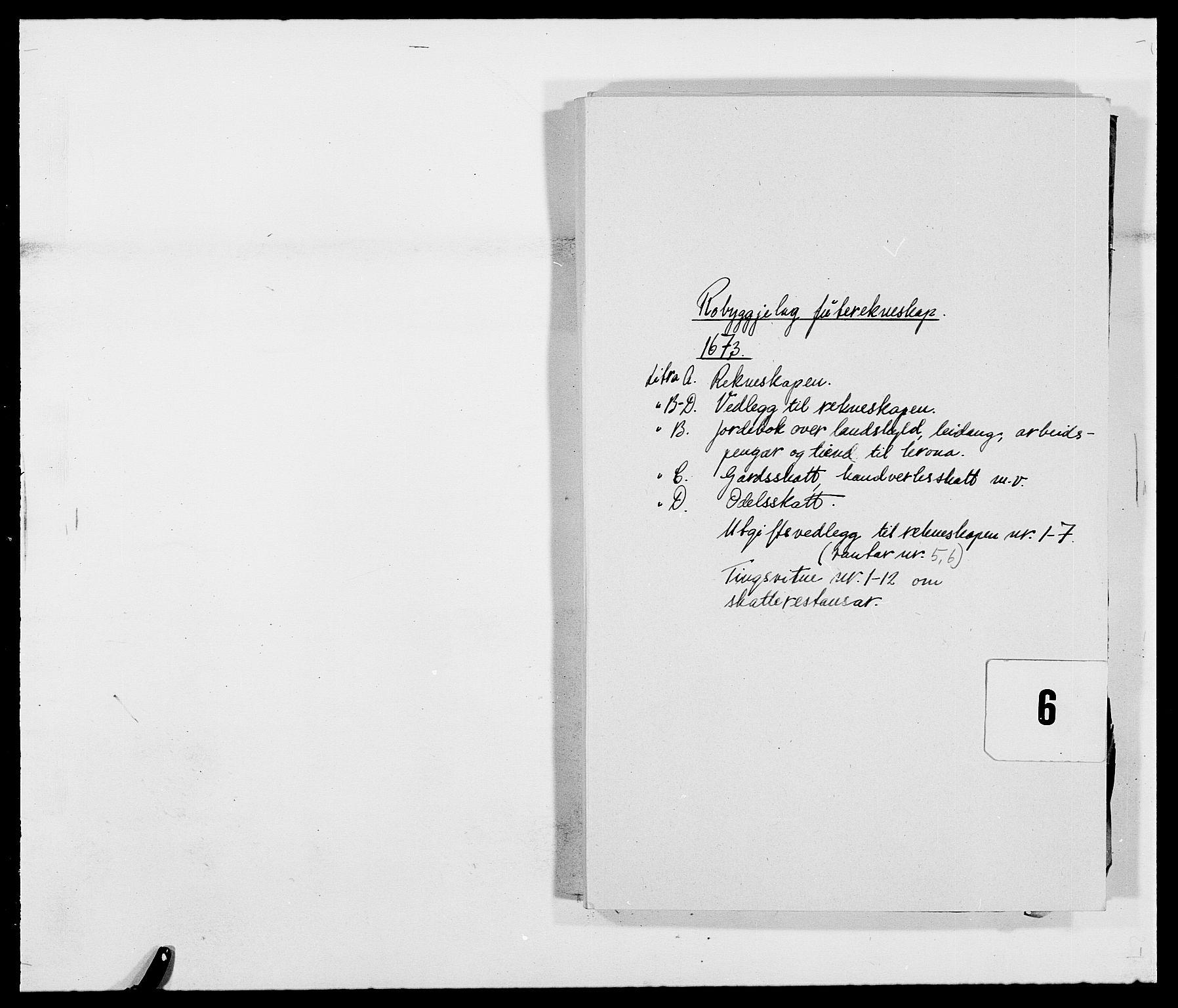 RA, Rentekammeret inntil 1814, Reviderte regnskaper, Fogderegnskap, R40/L2433: Fogderegnskap Råbyggelag, 1671-1674, s. 170