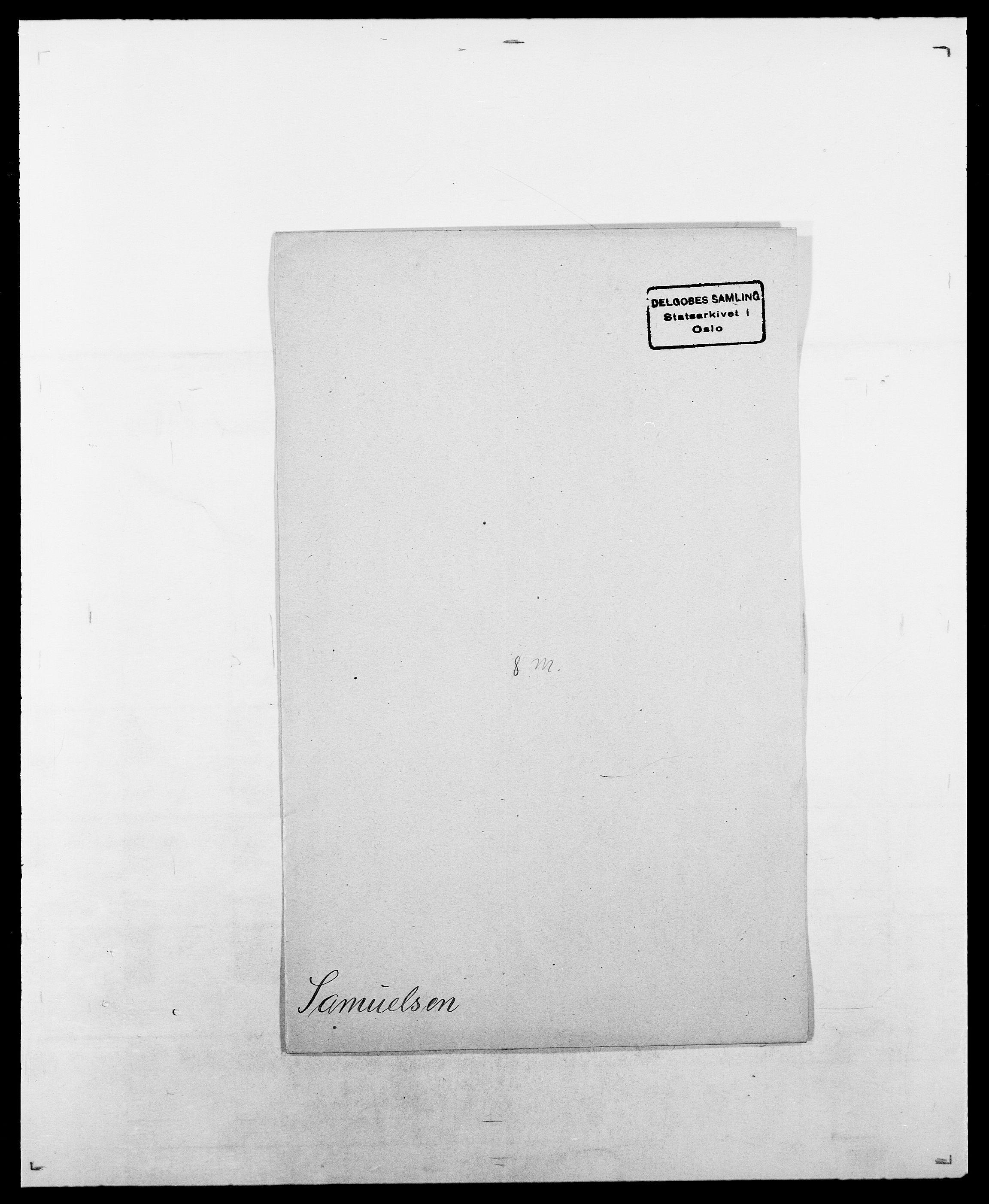 SAO, Delgobe, Charles Antoine - samling, D/Da/L0034: Saabye - Schmincke, s. 94